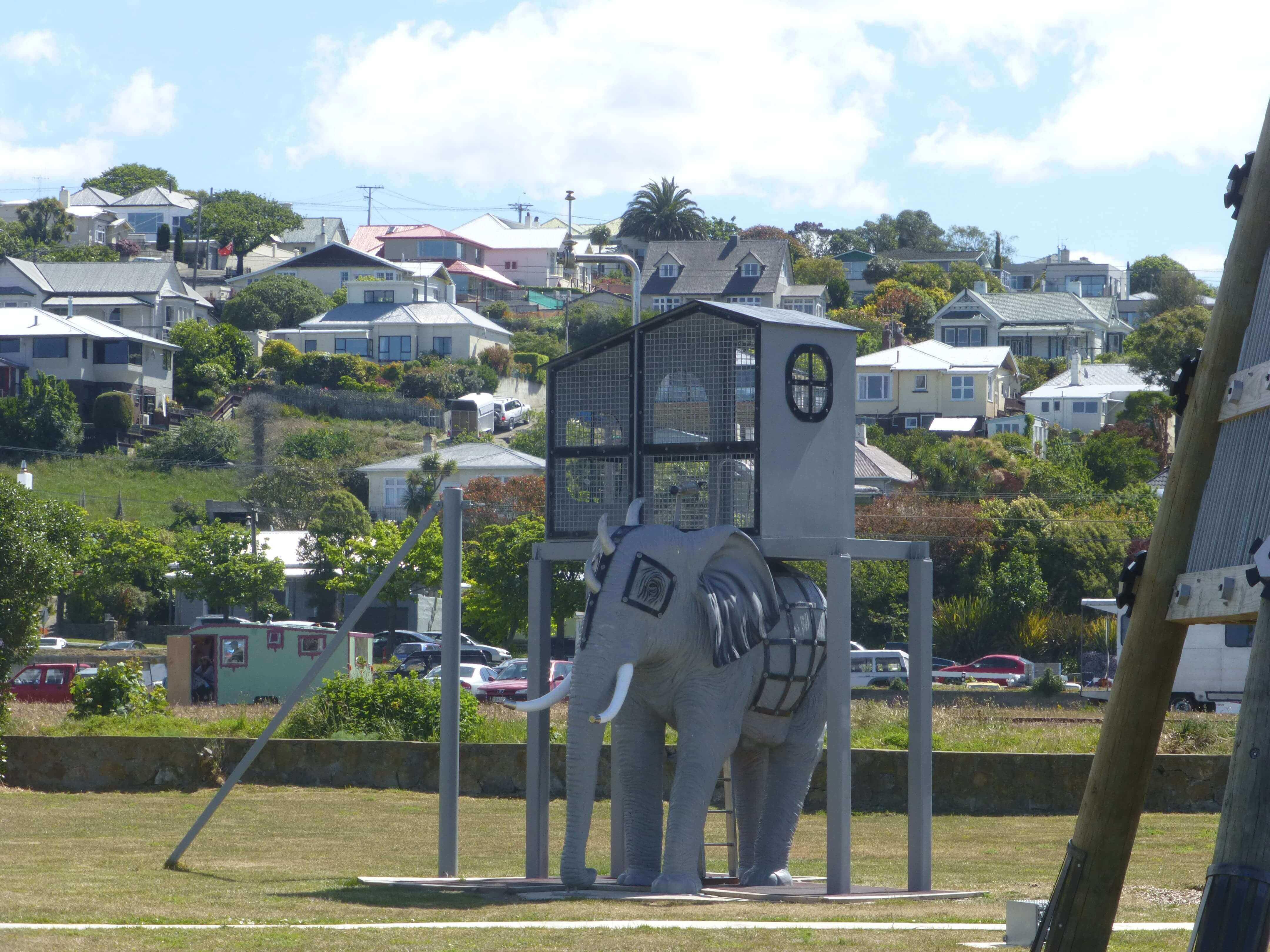 Im Hafen von Oamaru, Neuseeland 22