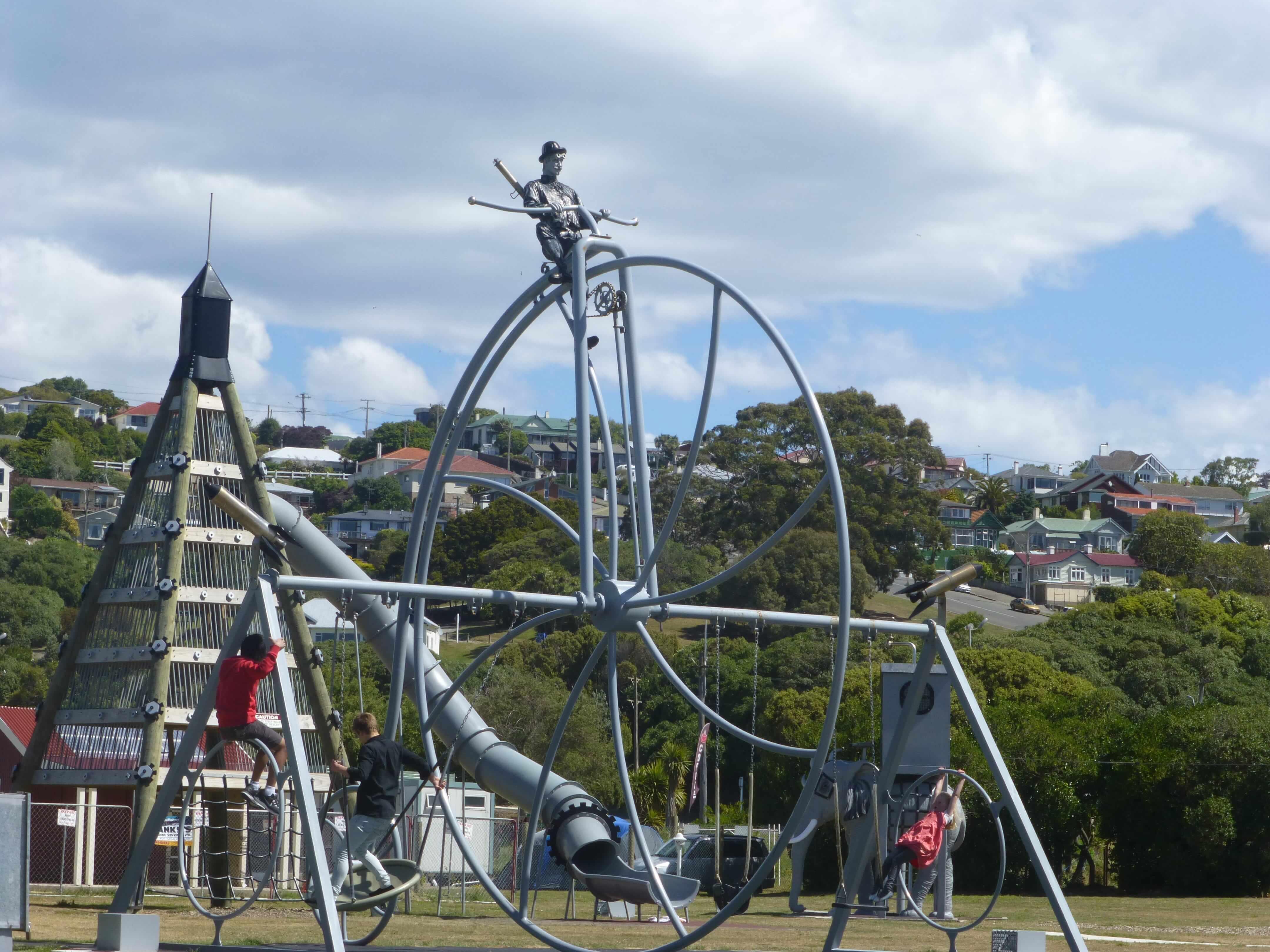 Im Hafen von Oamaru, Neuseeland 5