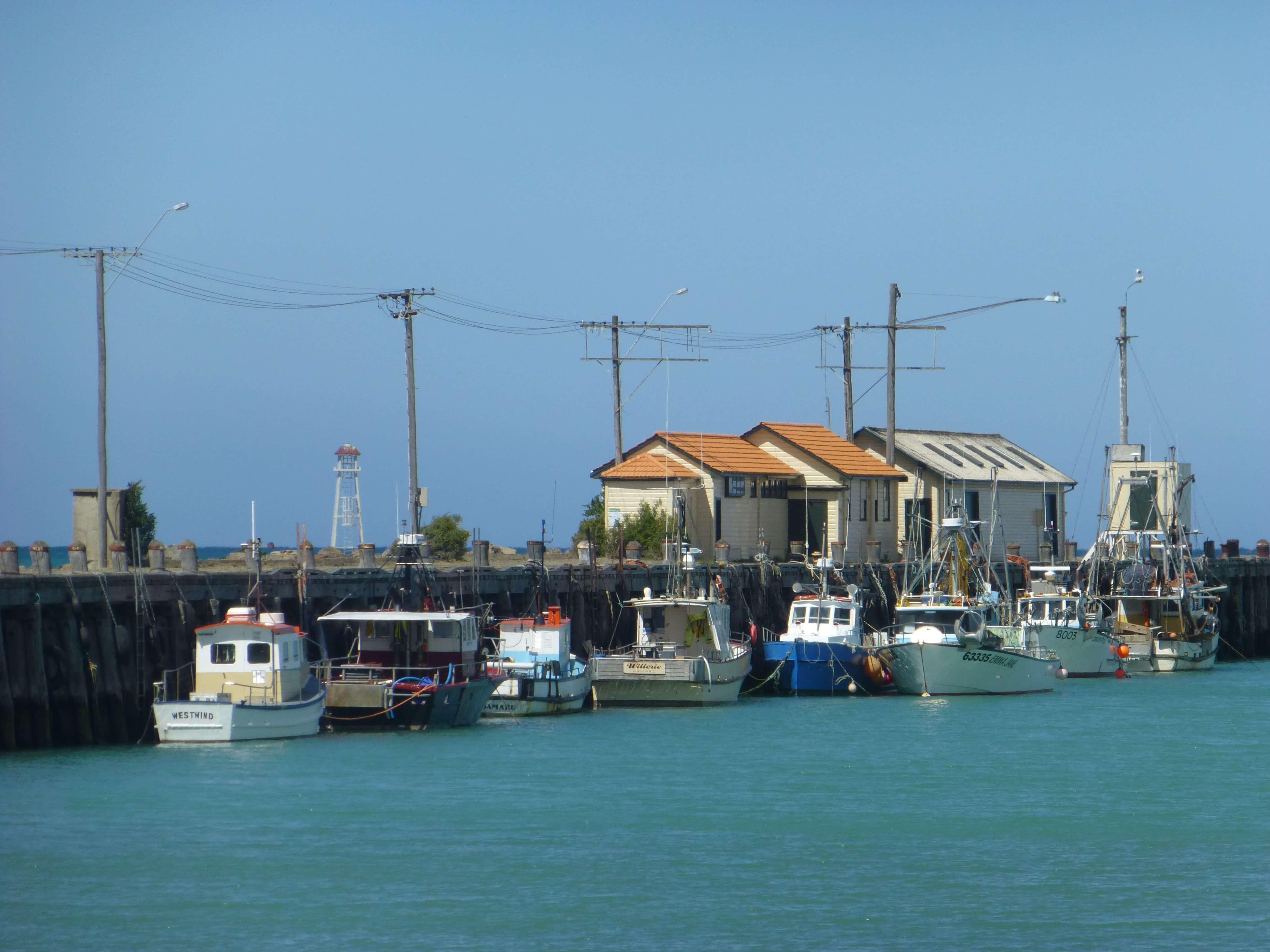 Im Hafen von Oamaru, Neuseeland 6