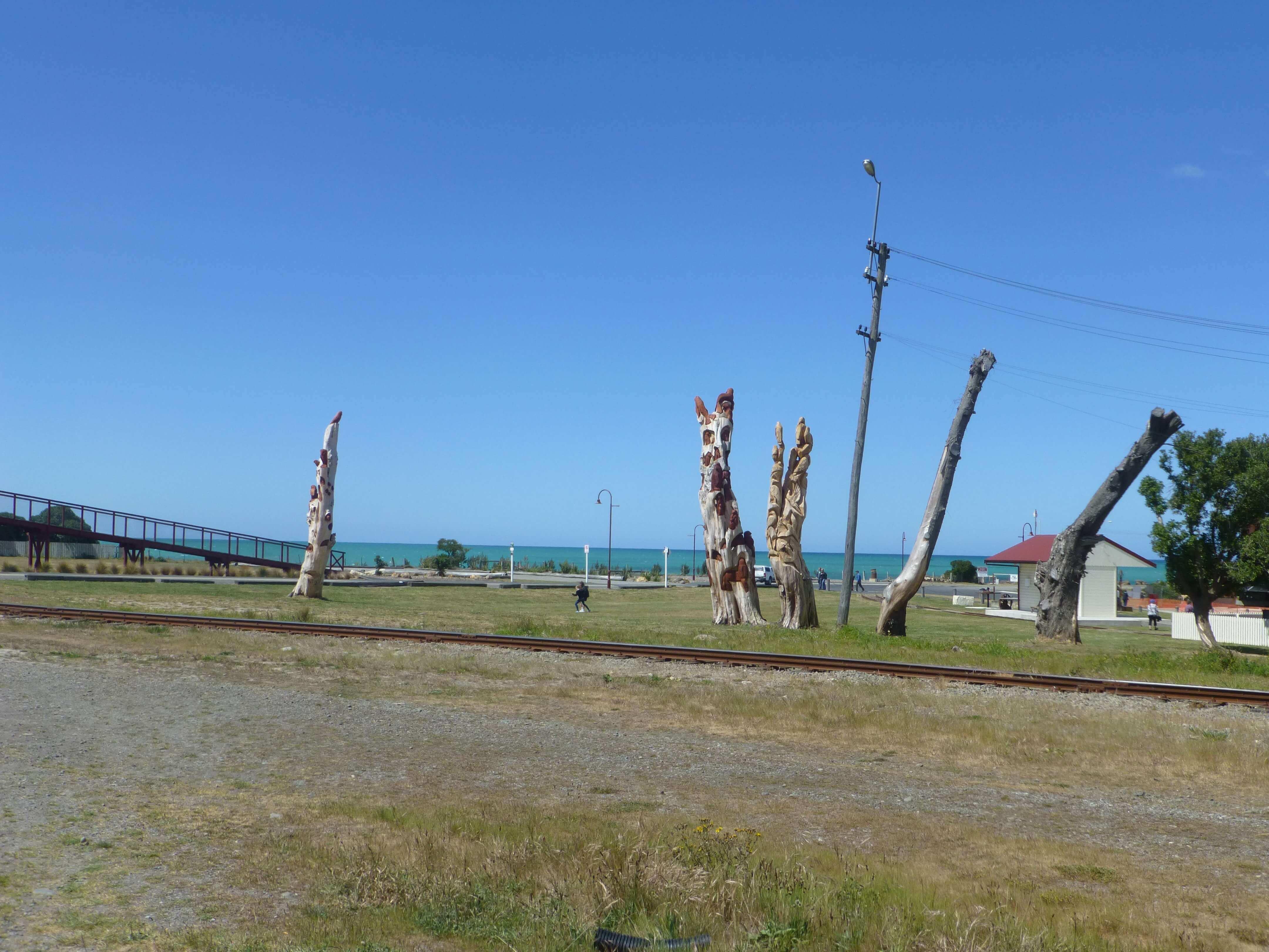 Im Hafen von Oamaru, Neuseeland 9