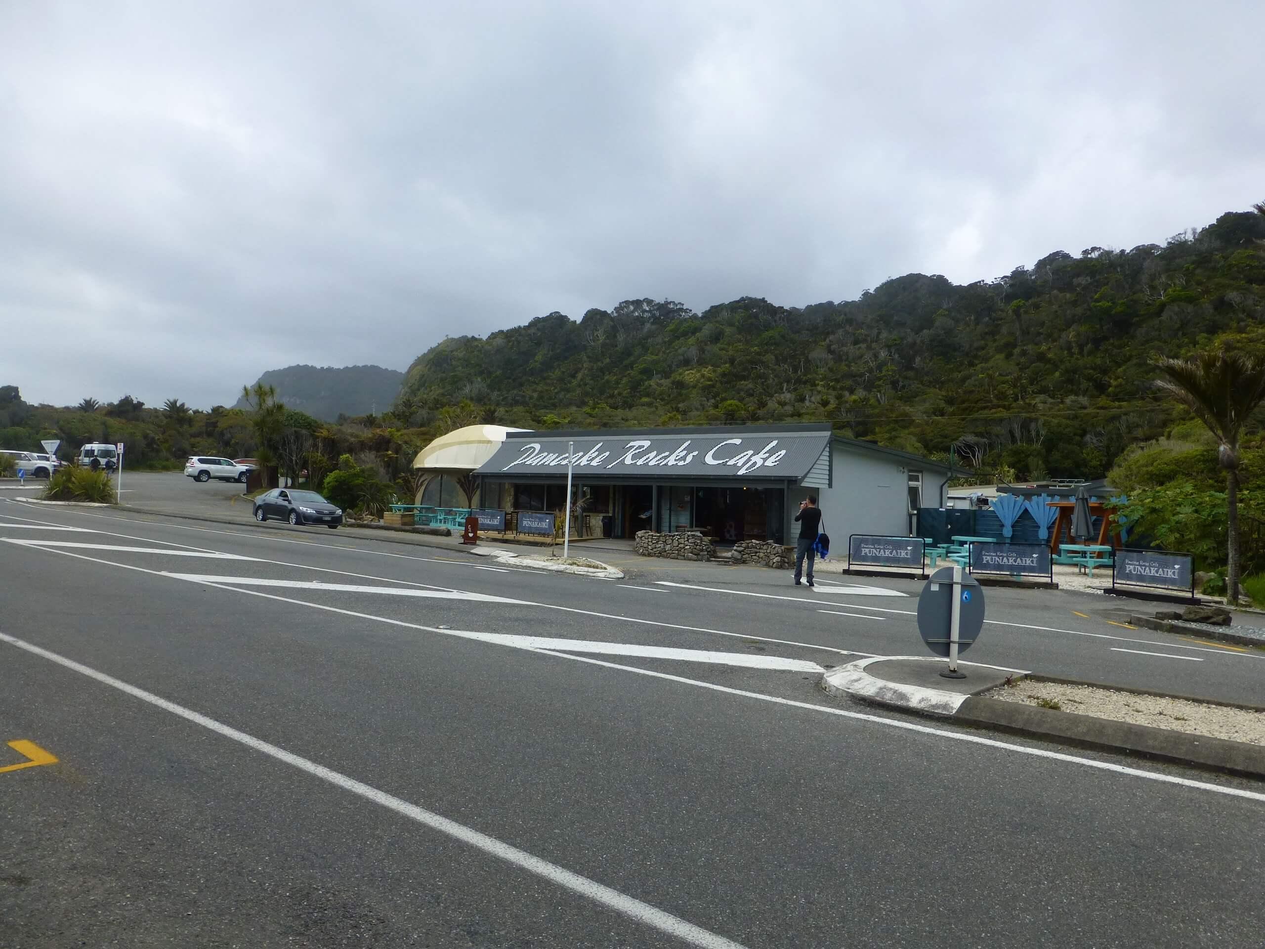 Neuseeland, Pancake Rocks Cafe 1