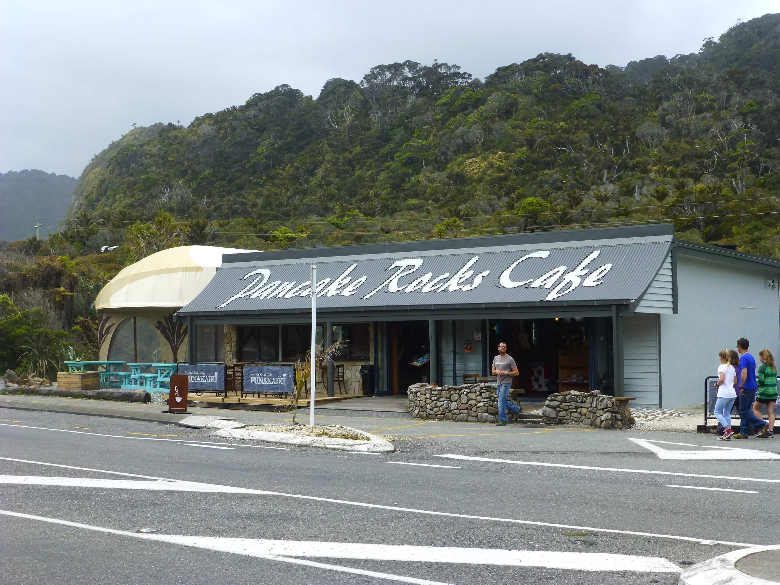 Neuseeland, Pancake Rocks Cafe 2
