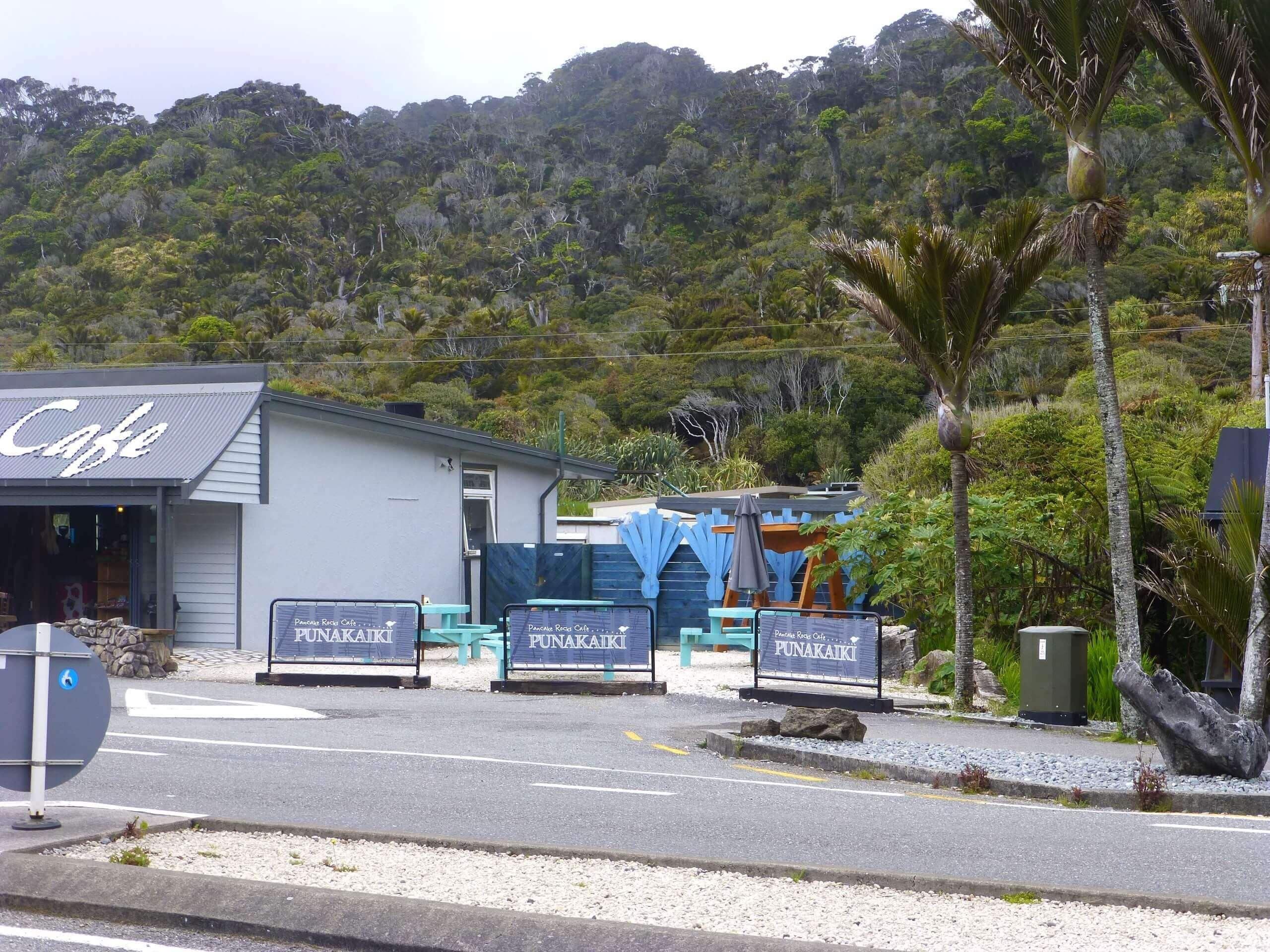 Neuseeland, Pancake Rocks Cafe 3