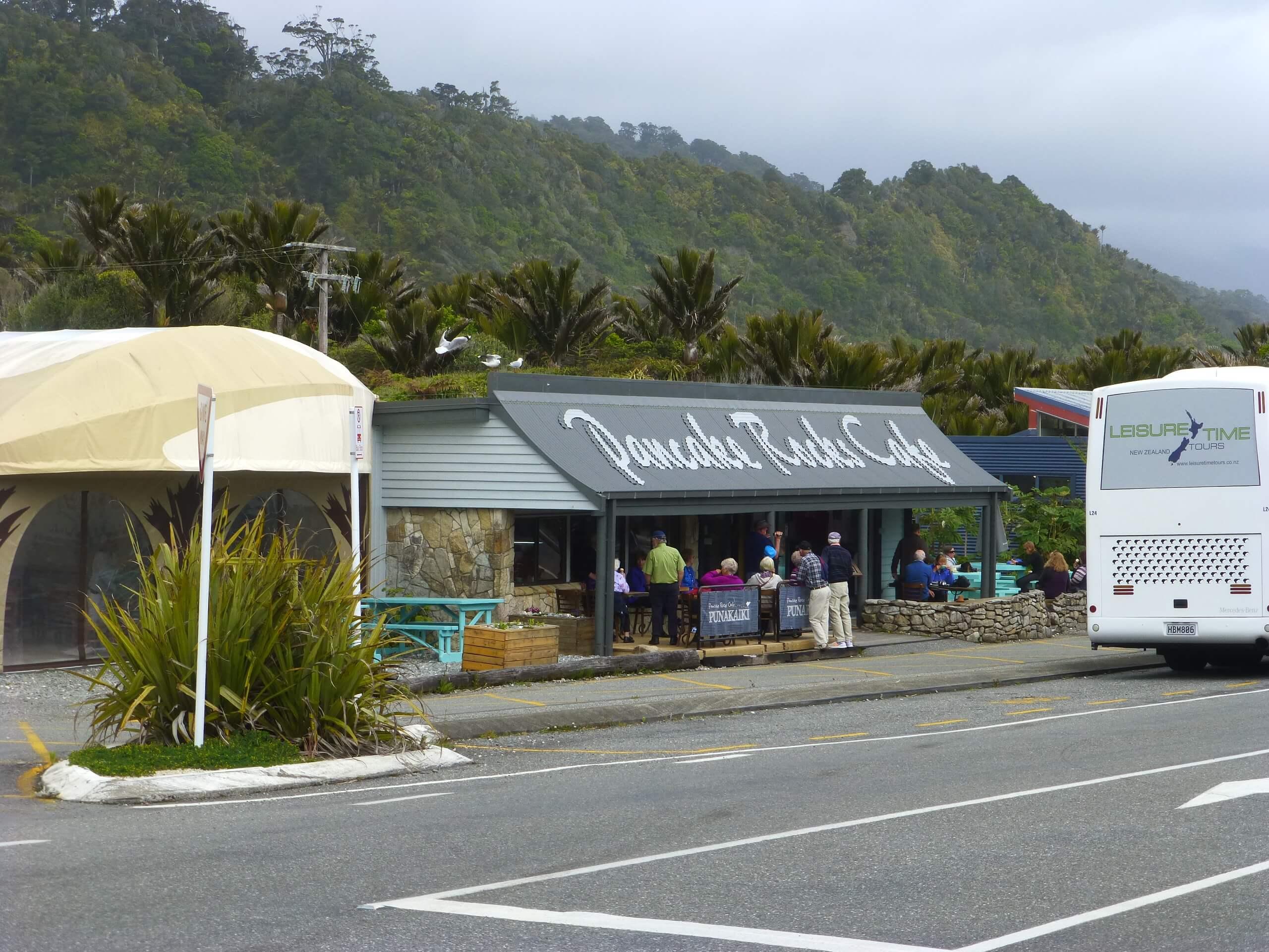Neuseeland, Pancake Rocks Cafe 5
