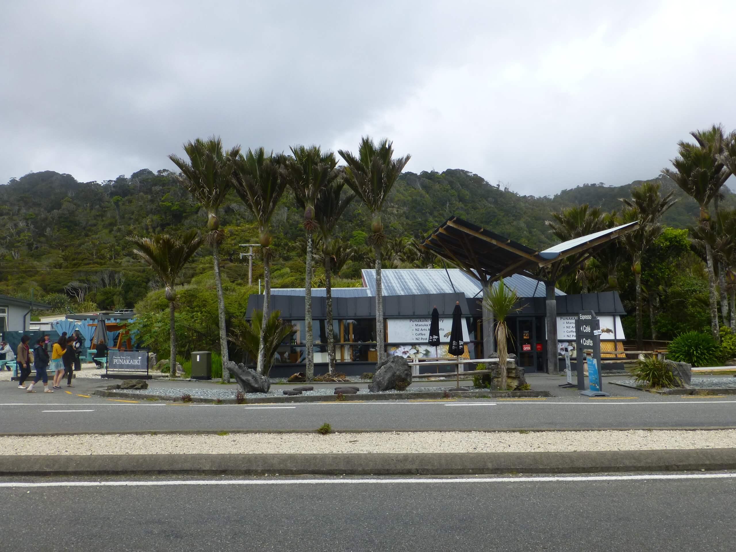 Neuseeland, Pancake Rocks Cafe 6
