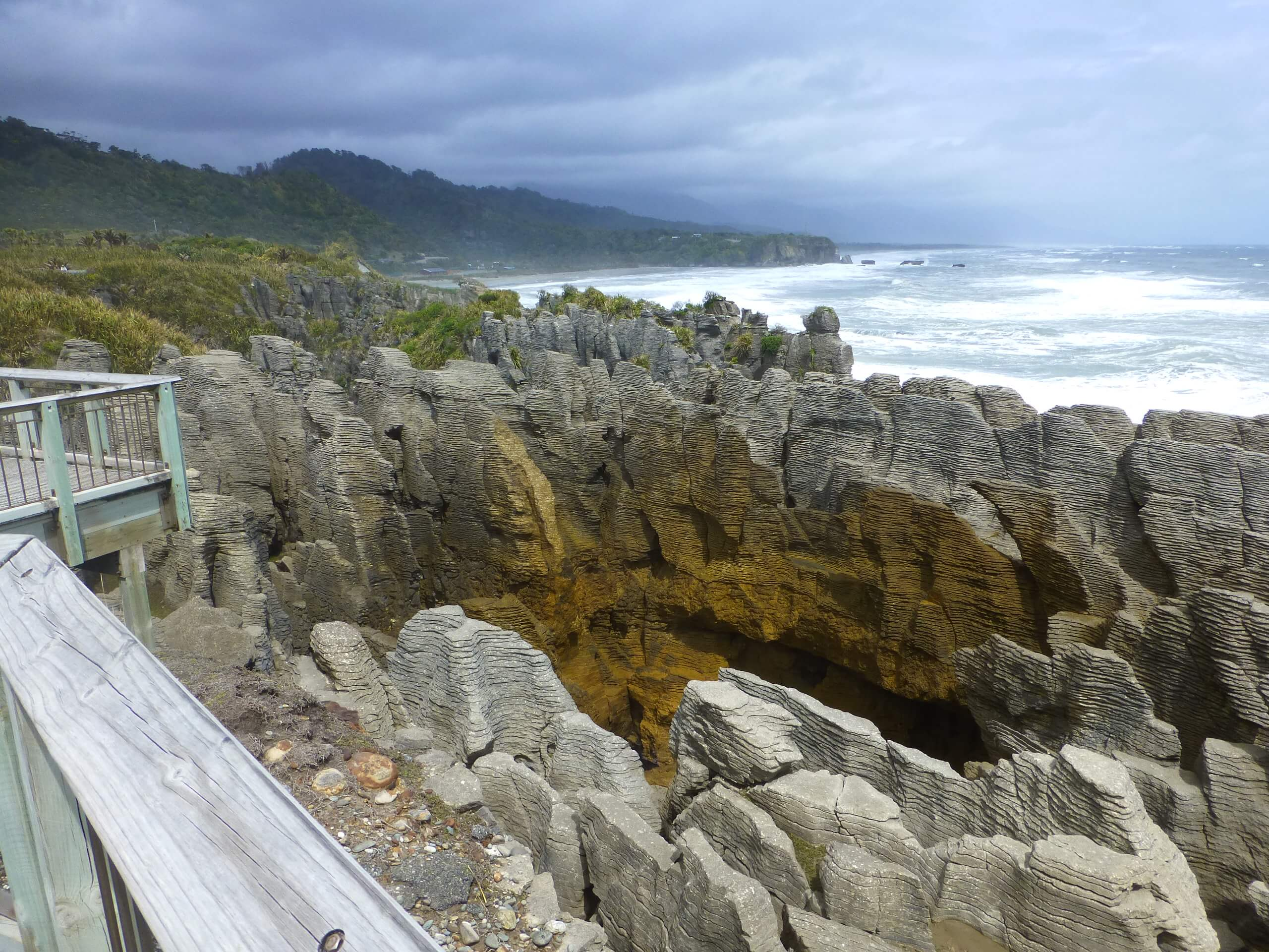 Pancake Rocks, Walk Way, Westküste Neuseeland 13