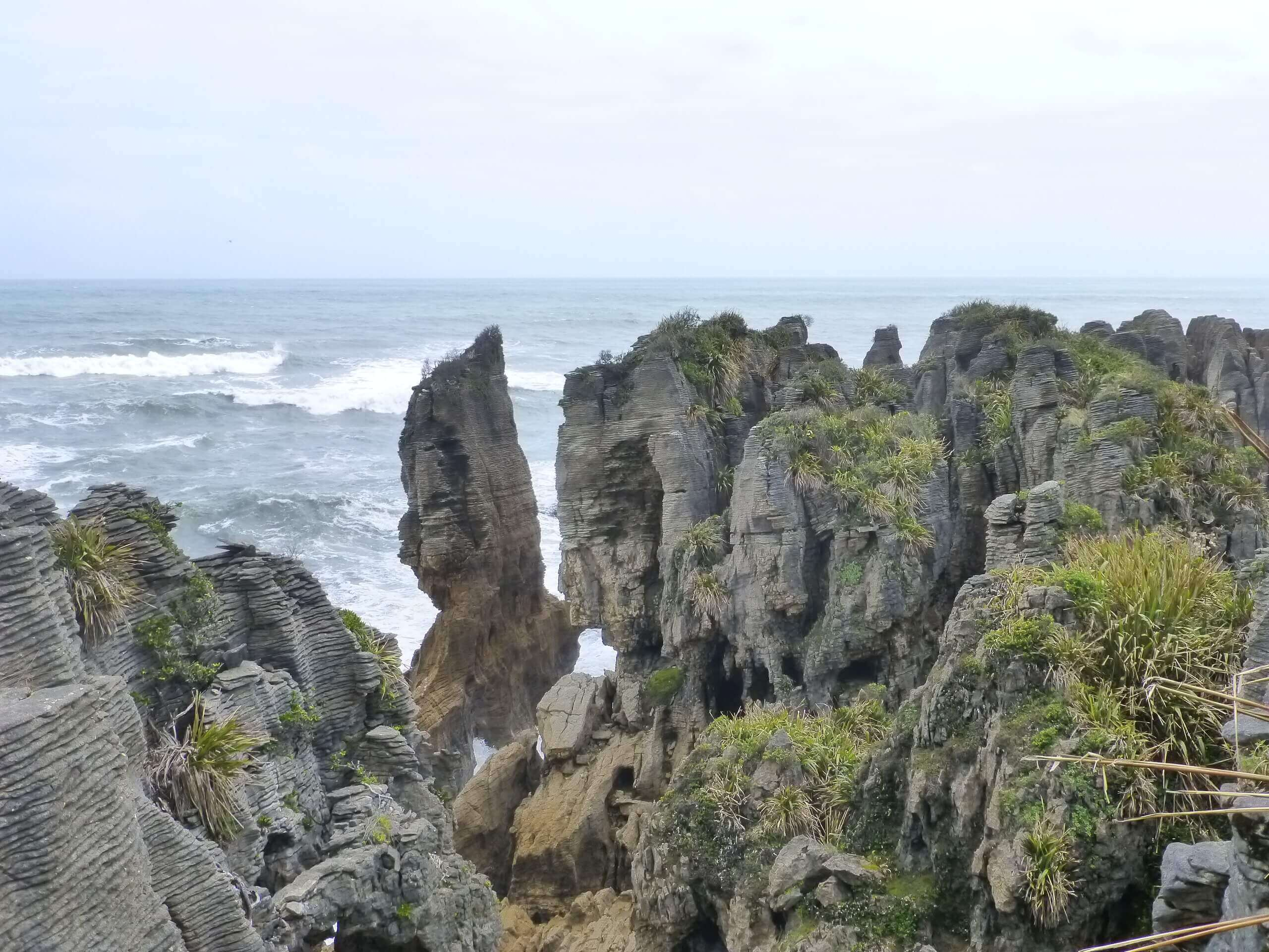 Pancake Rocks, Walk Way, Westküste Neuseeland 2