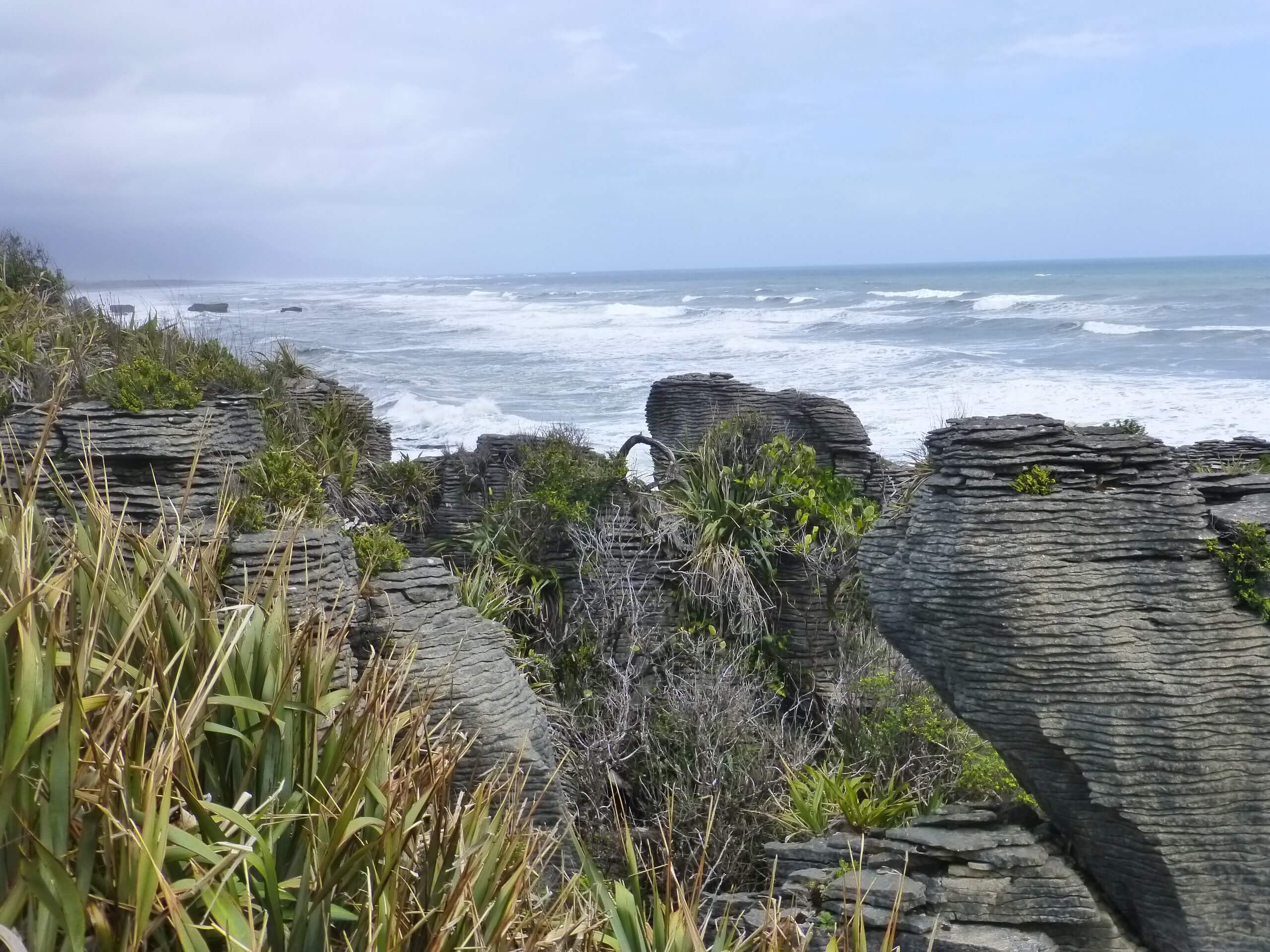 Pancake Rocks, Walk Way, Westküste Neuseeland 5