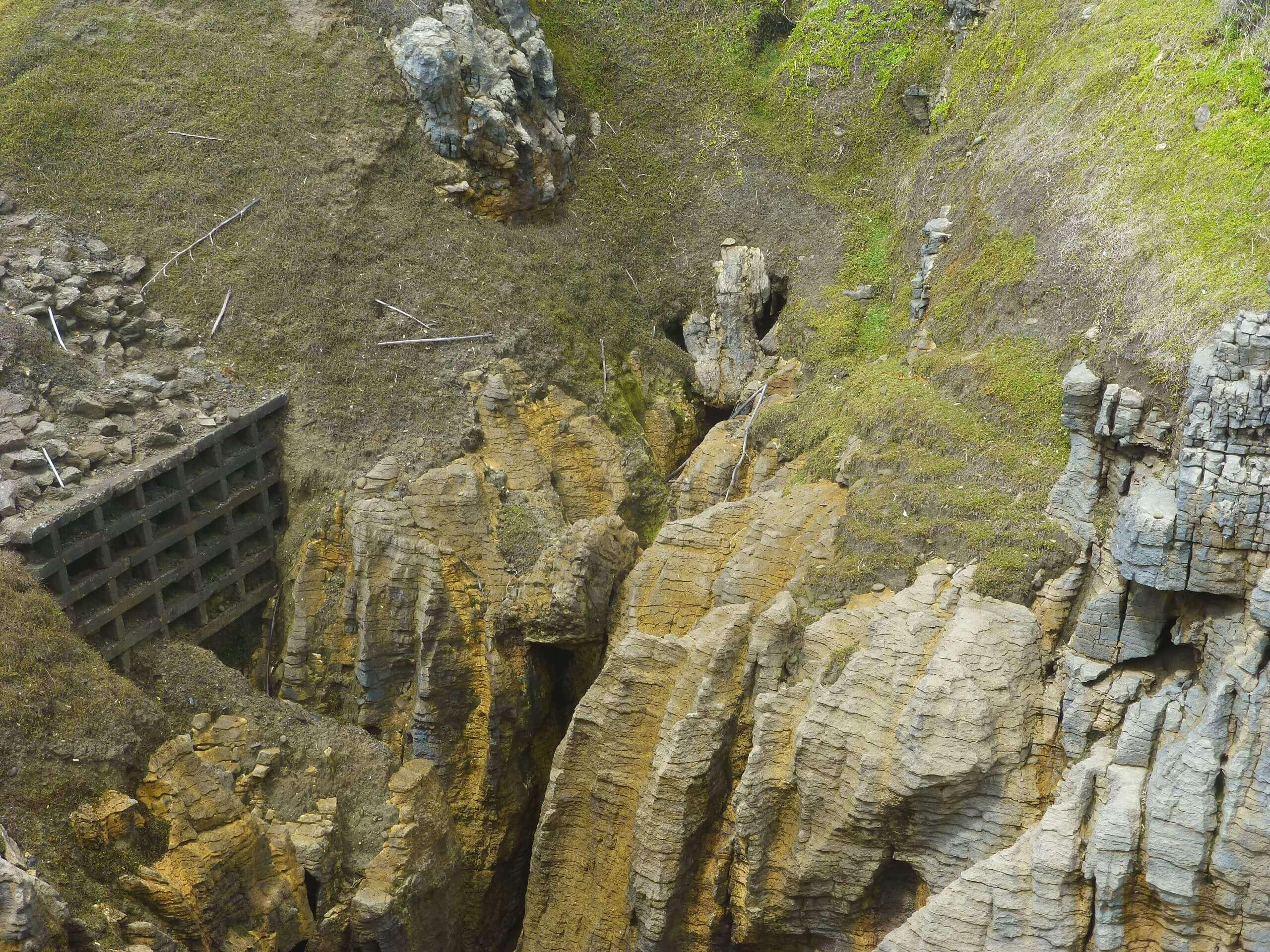 Pancake Rocks, Blow Hole, Westküste Neuseeland 2