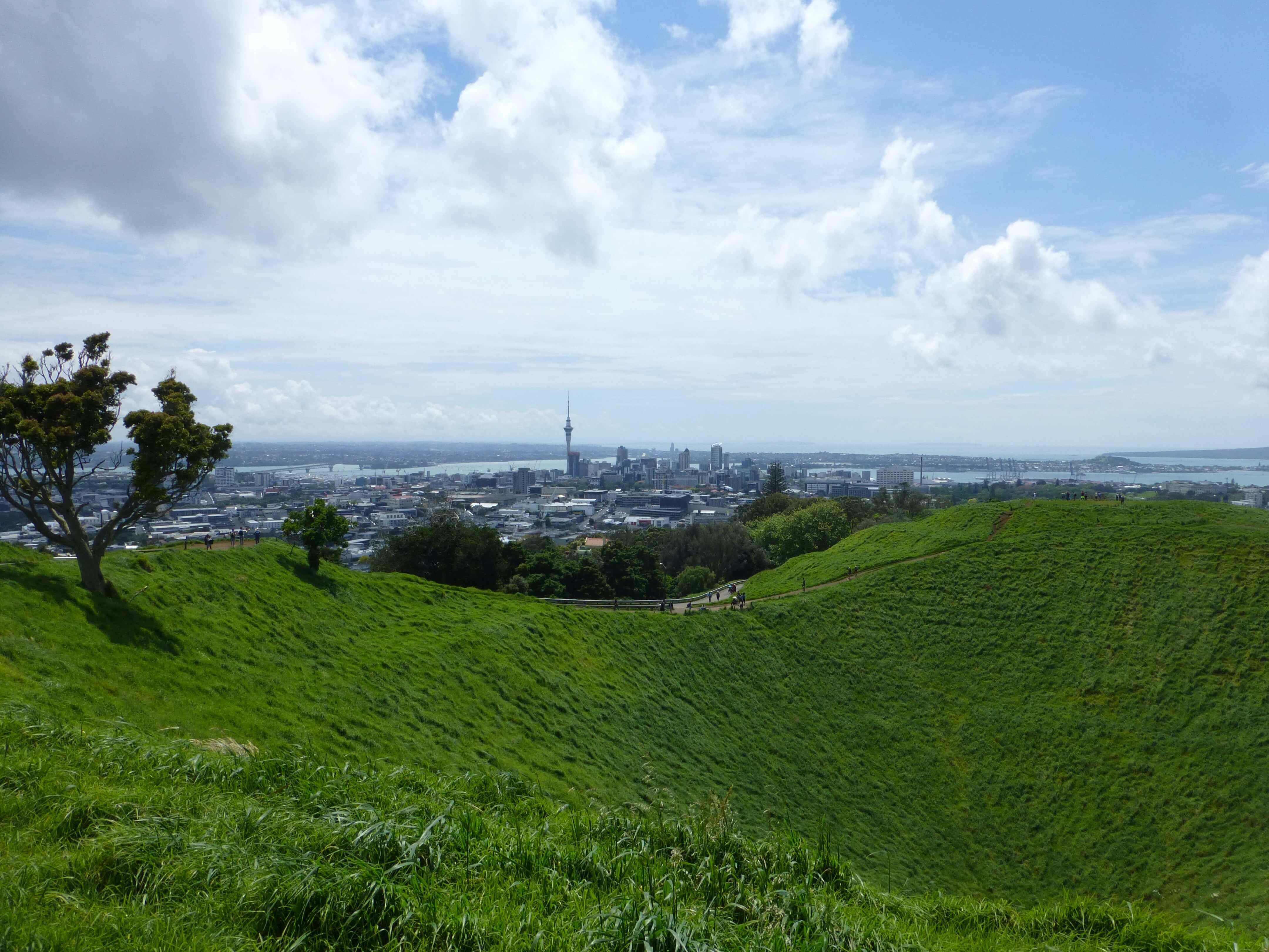 Neuseeland Reise, Auckland, Mount Eden 2