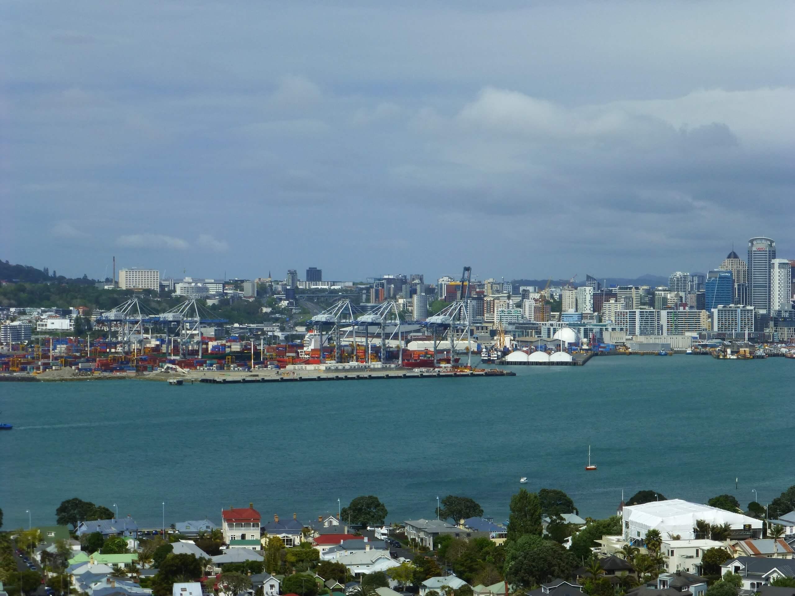Neuseeland Reise, Auckland, Mount Viktoria