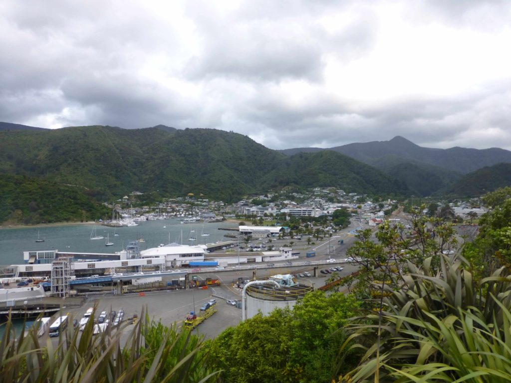 Interisländer-Fähre, Picton, Neuseeland Reise, weit-weg. reisen