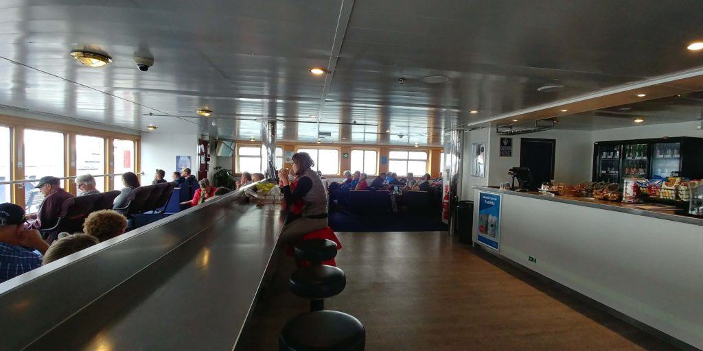 Neuseeland Reise, auf der Interisländer-Fähre, weit-weg. reisen