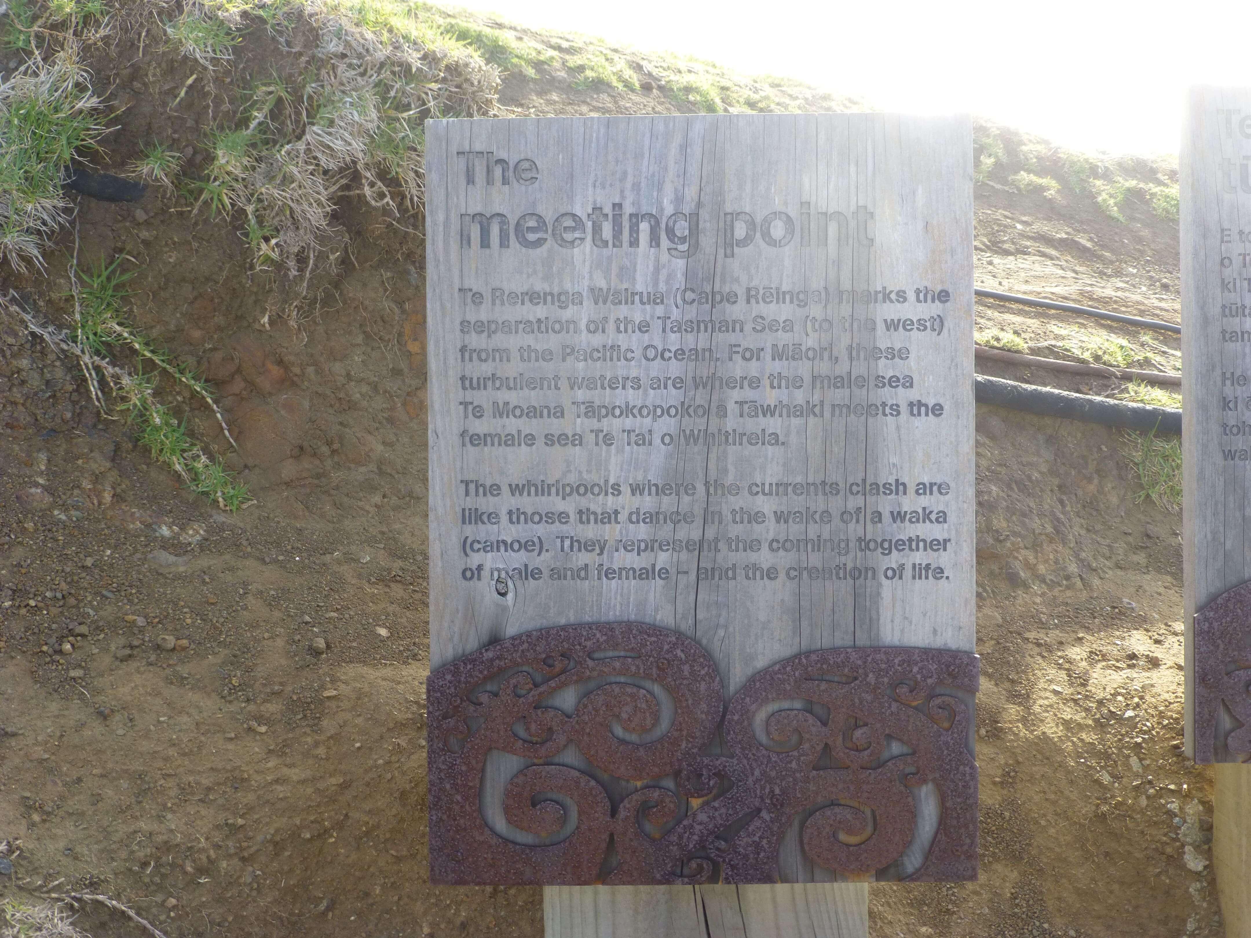 Infotafeln am Cape Reinga 21