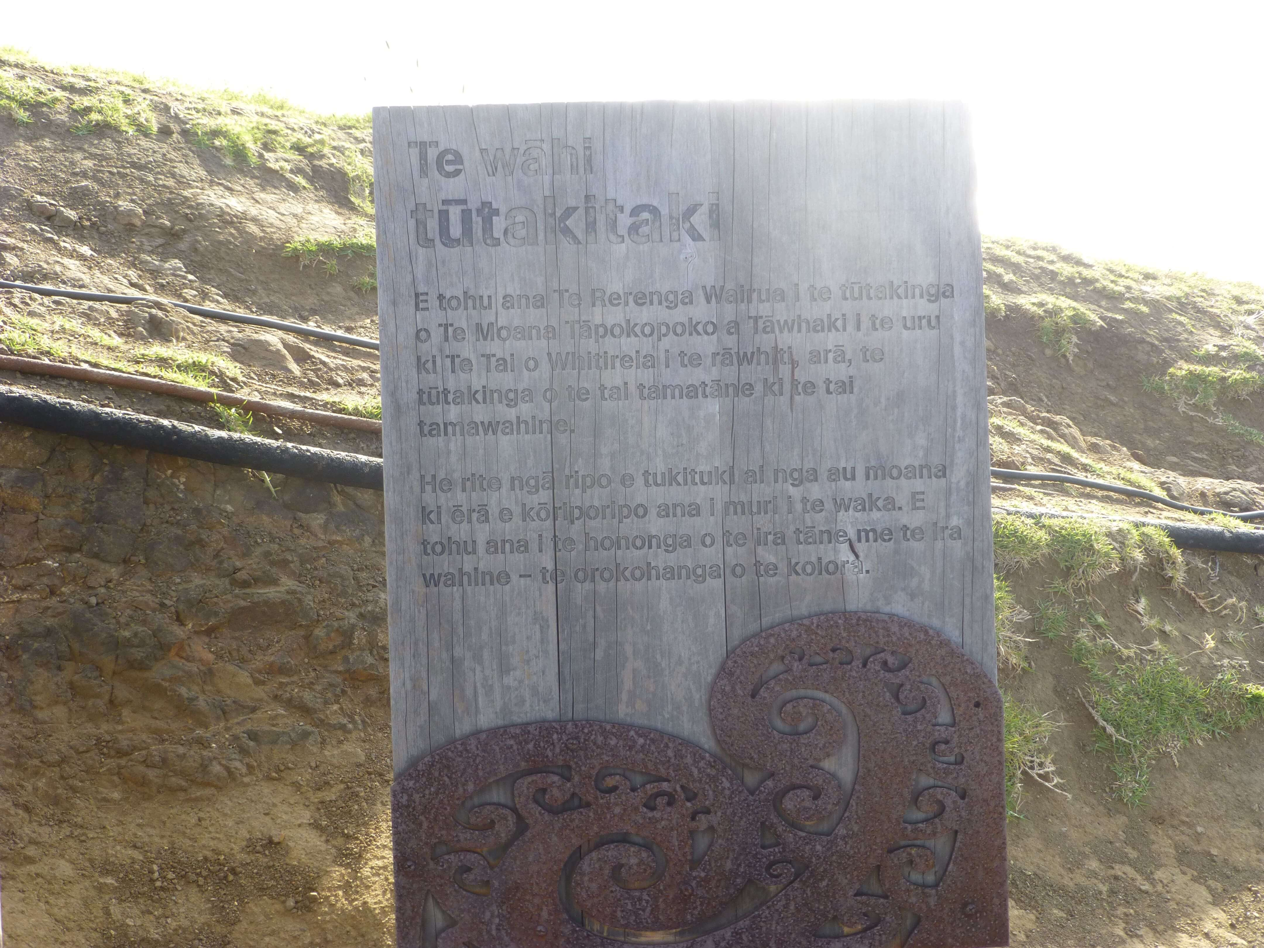 Infotafeln am Cape Reinga 22