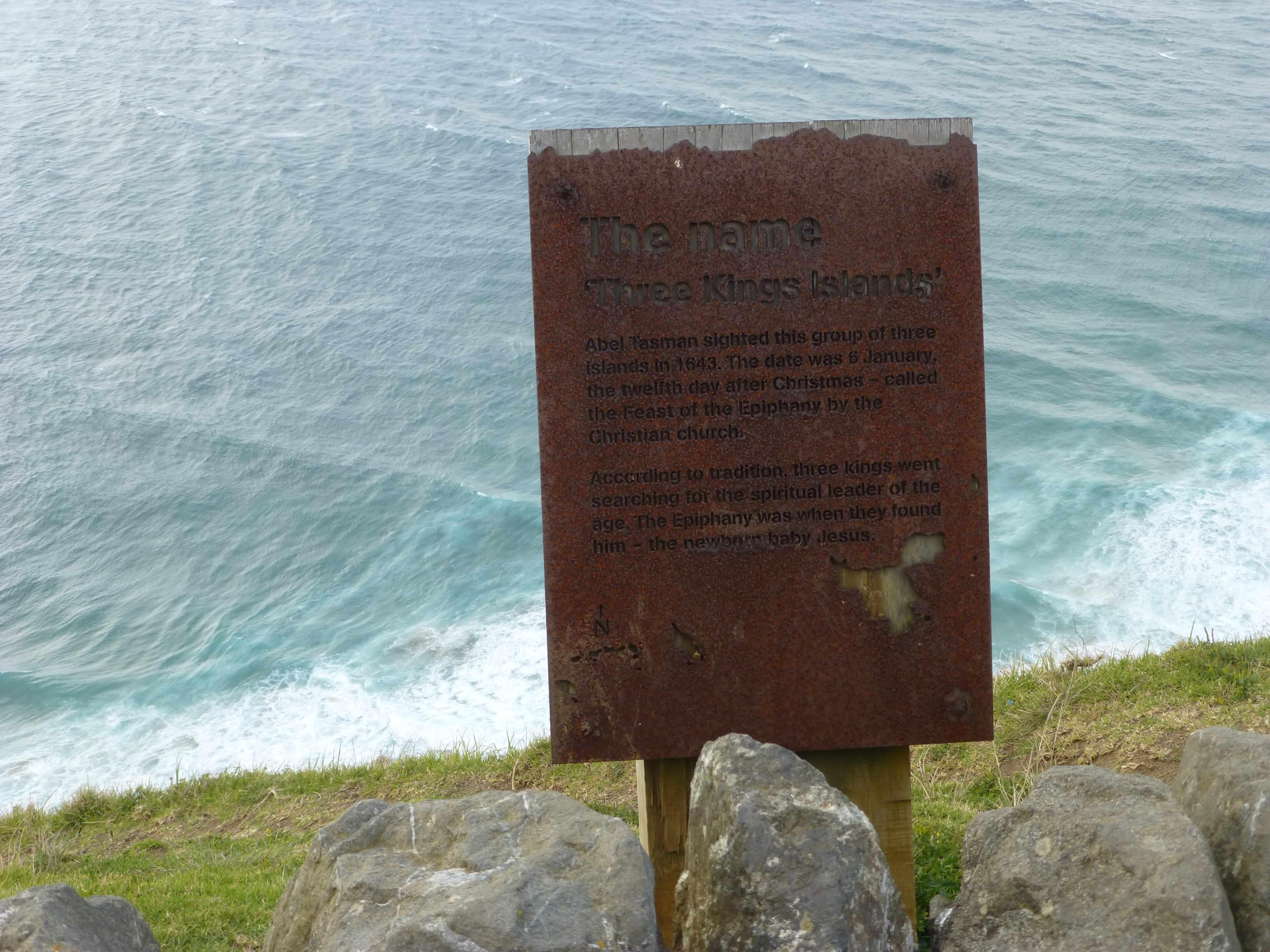 Infotafeln am Cape Reinga 23