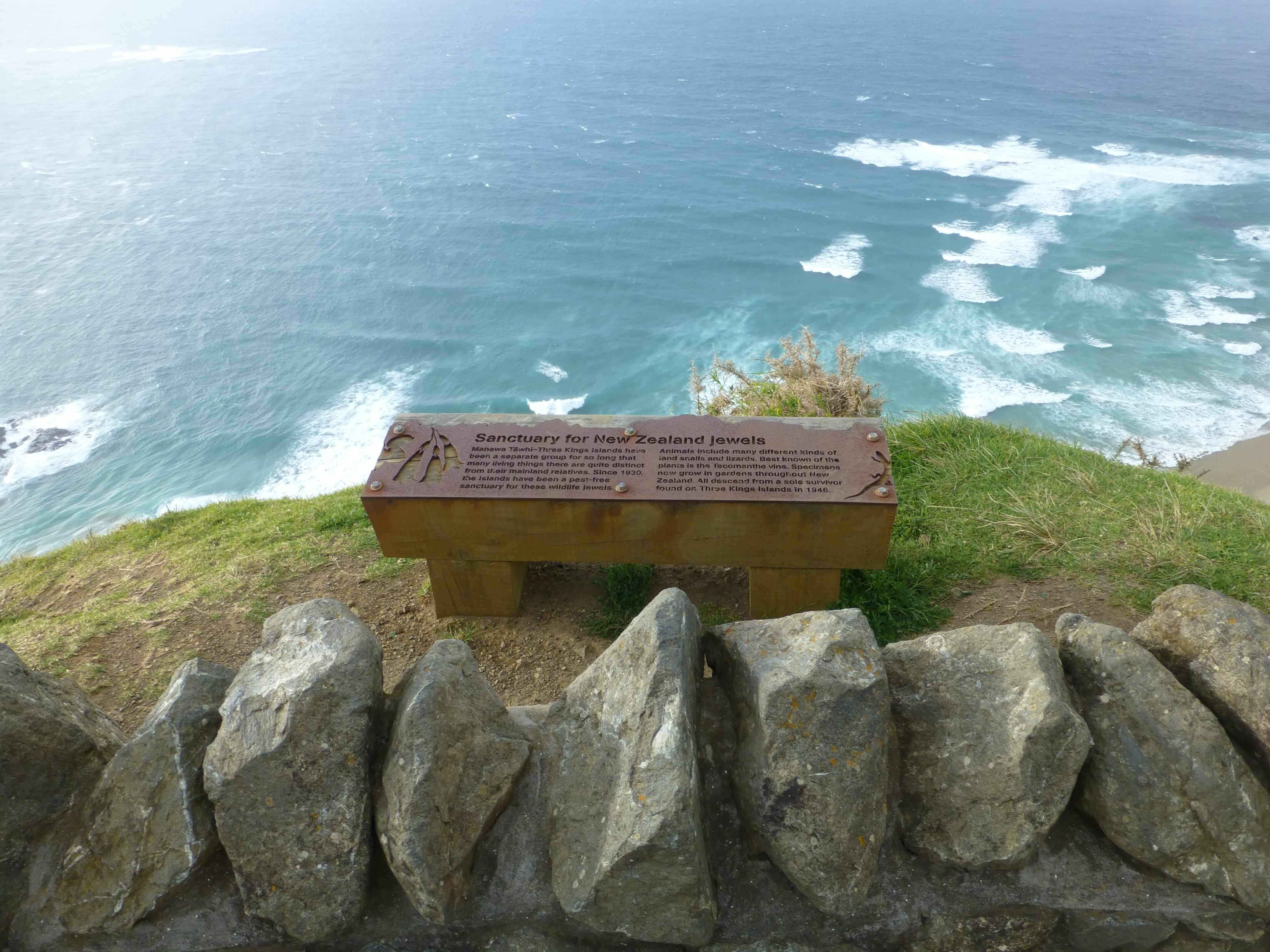Infotafeln am Cape Reinga 24