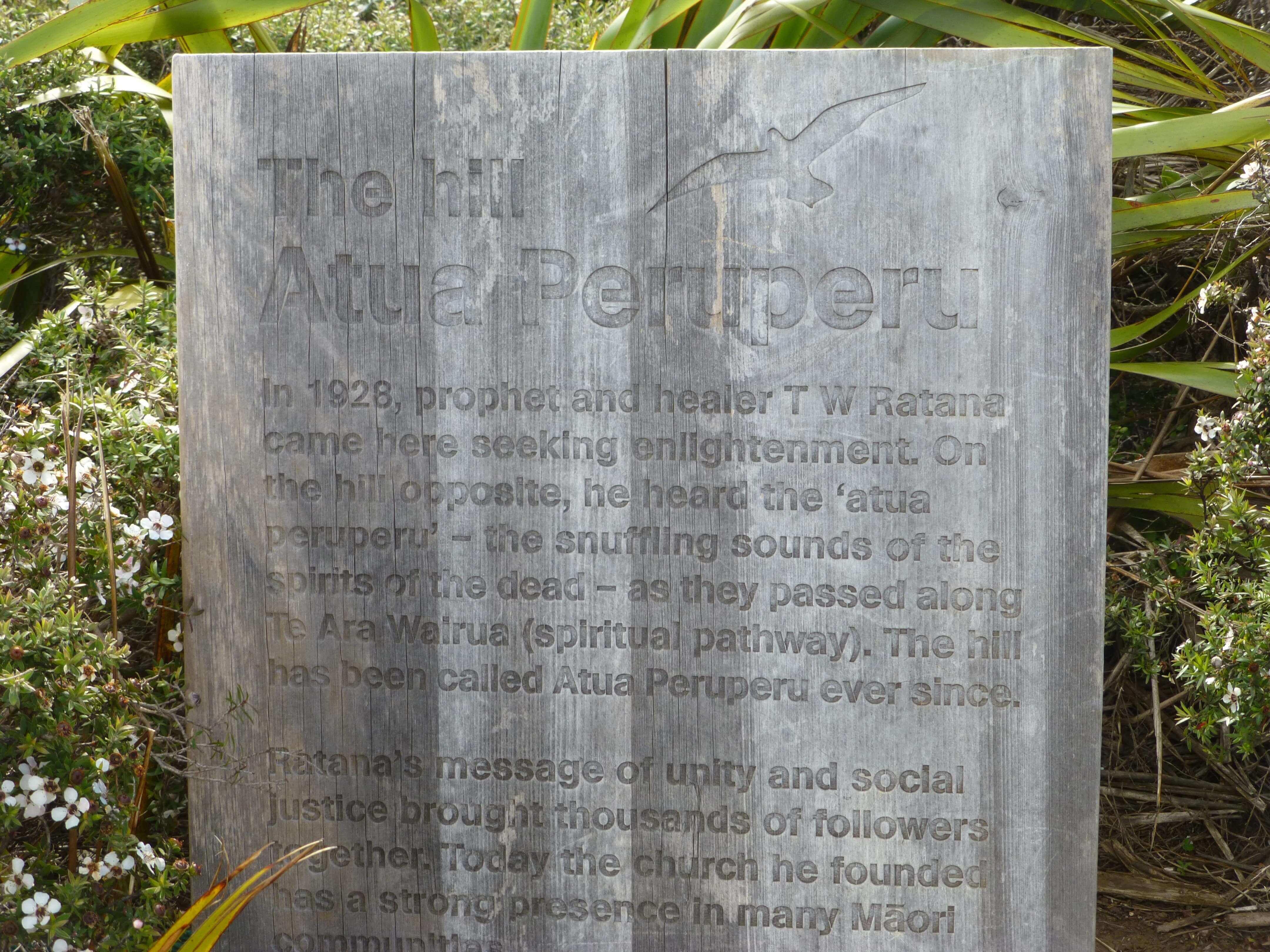 Infotafeln am Cape Reinga 5