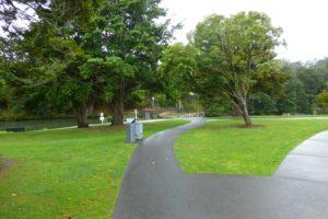 bei den Whangarei Falls, Neuseeland, Weit weg Reisen 1