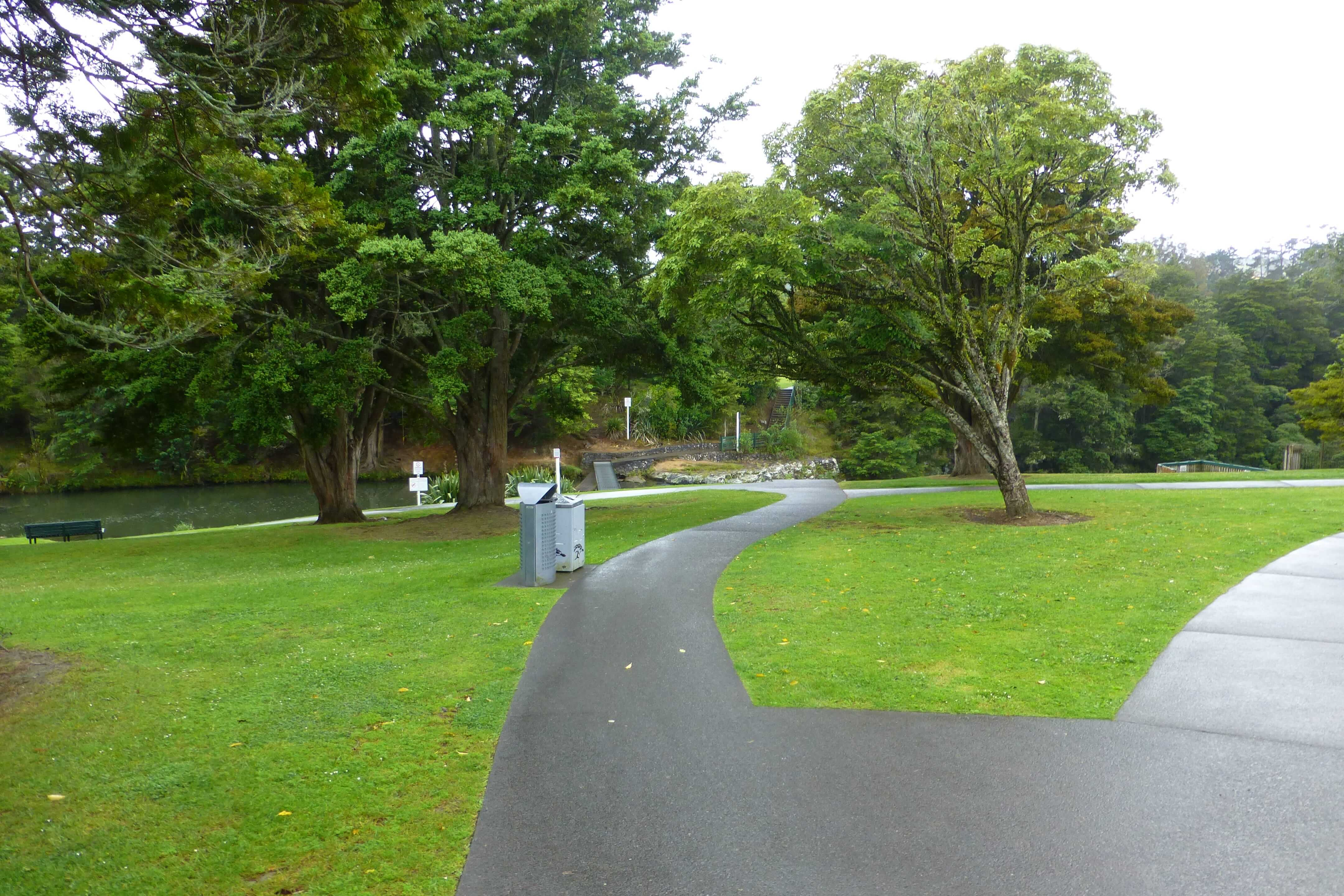 Weit weg Reisen, Whangarei Falls, Neuseeland 1