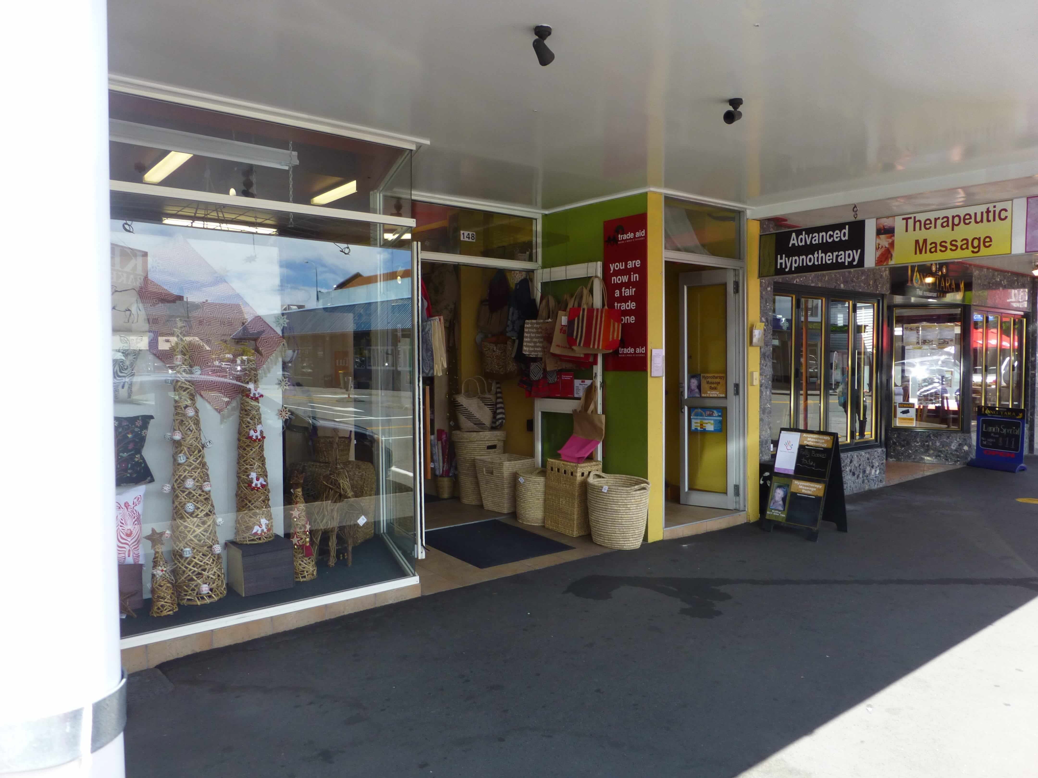 Weit weg reisen, Nelson NZ, Fair Trade 2