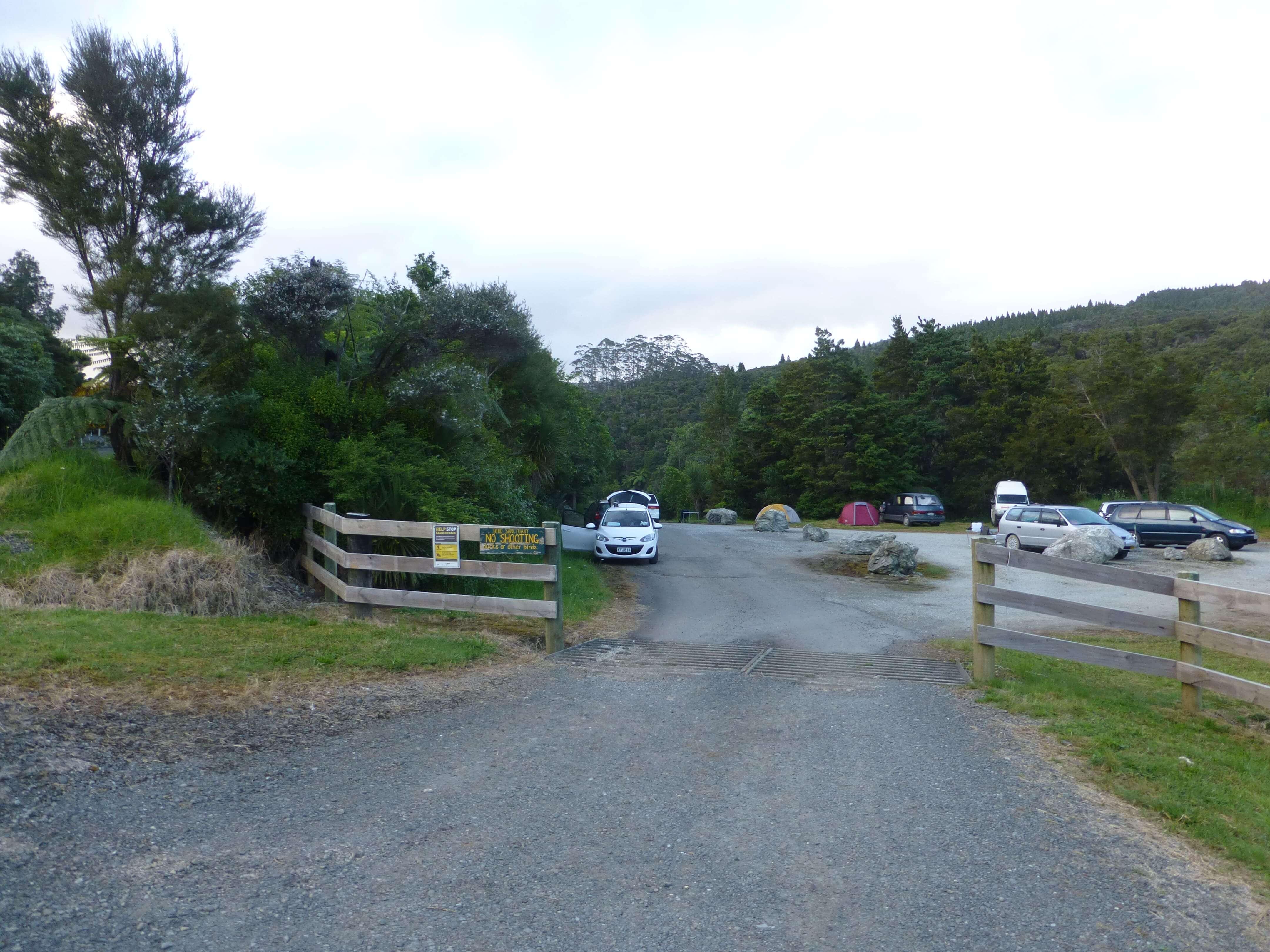 Weit weg reisen, Campingplatz Raetea North Side 2