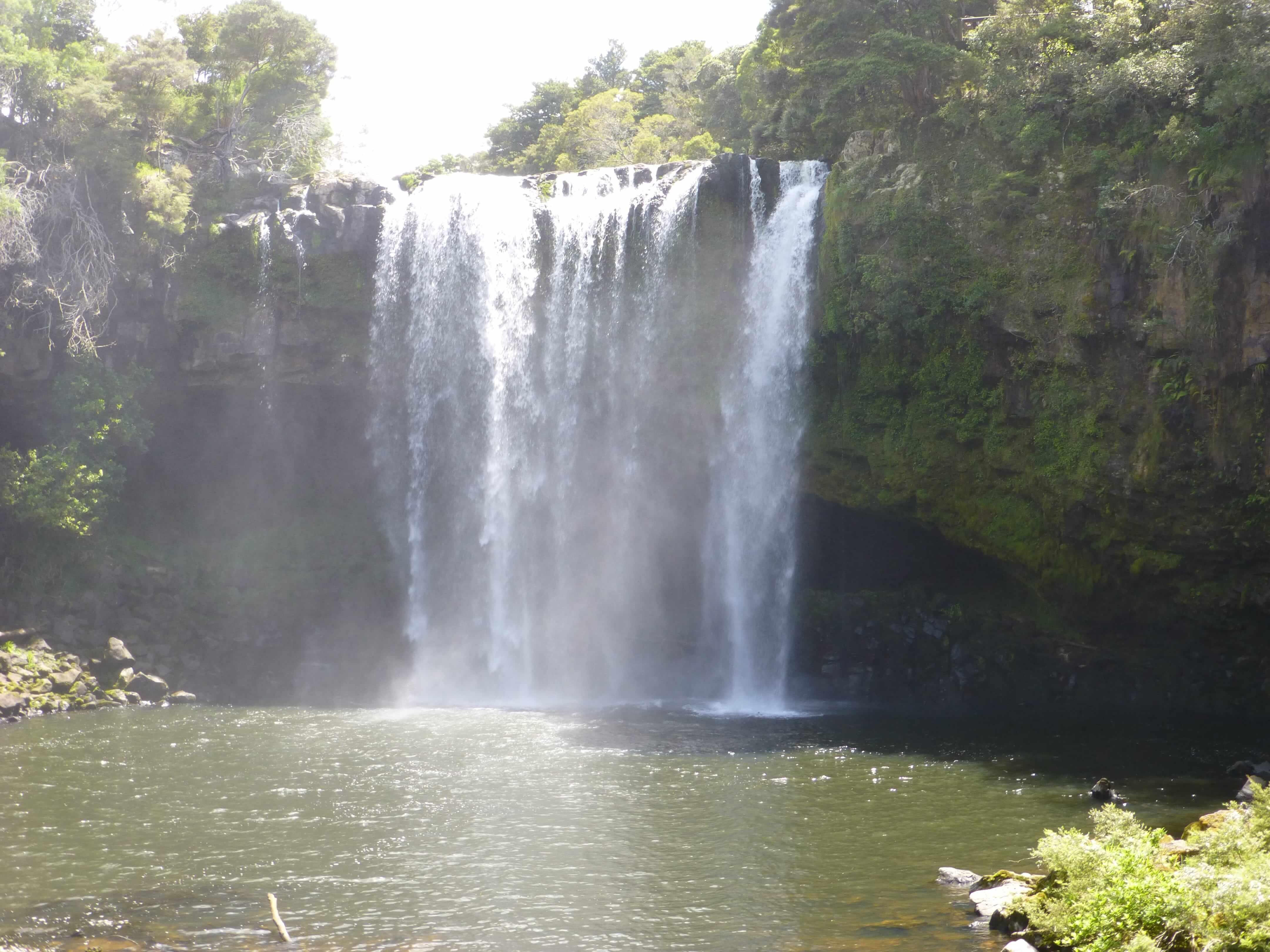 Weit weg Reisen, Rainbow Falls, bei Kerikeri 10