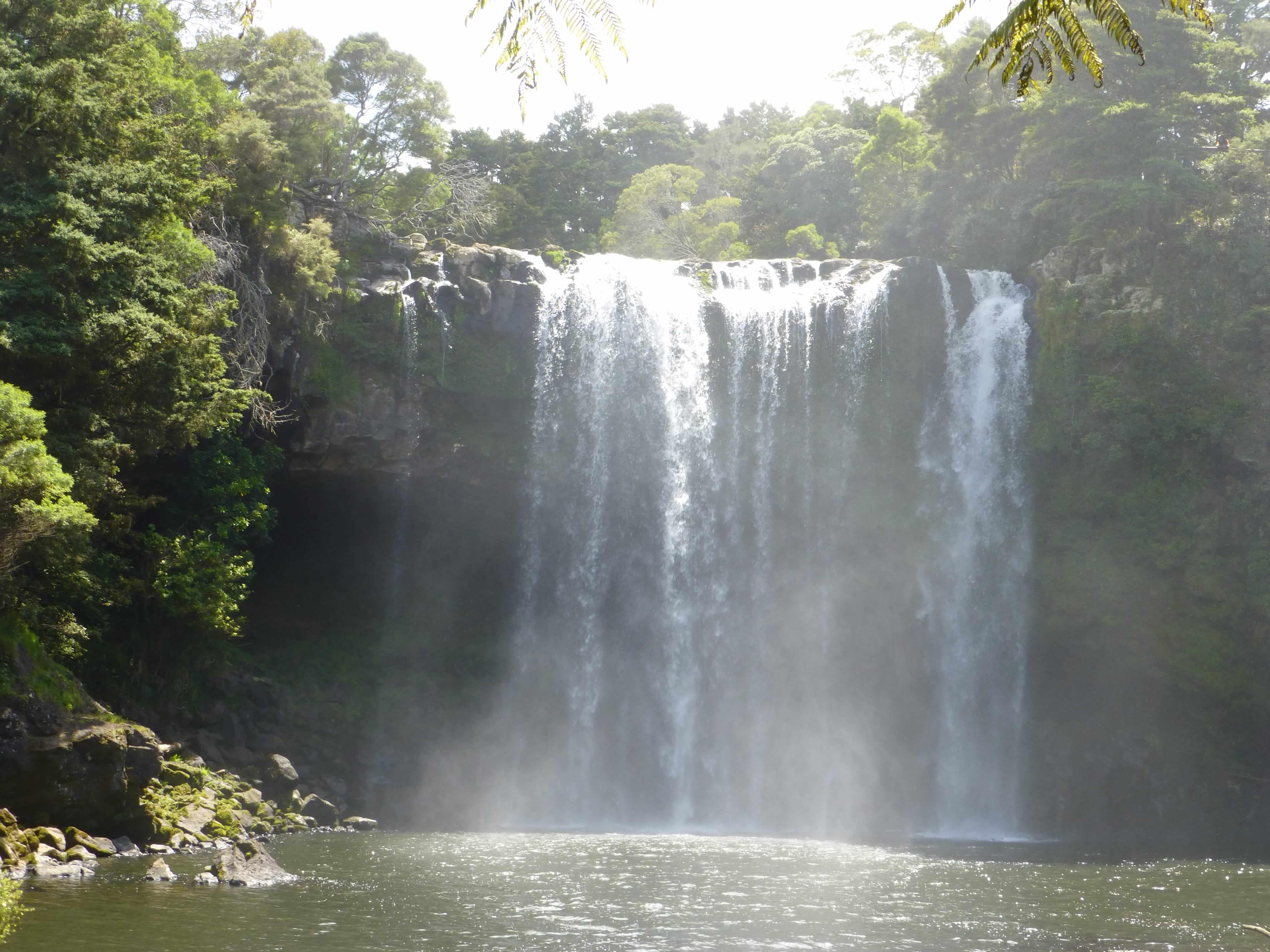 Weit weg Reisen, Rainbow Falls, bei Kerikeri 13