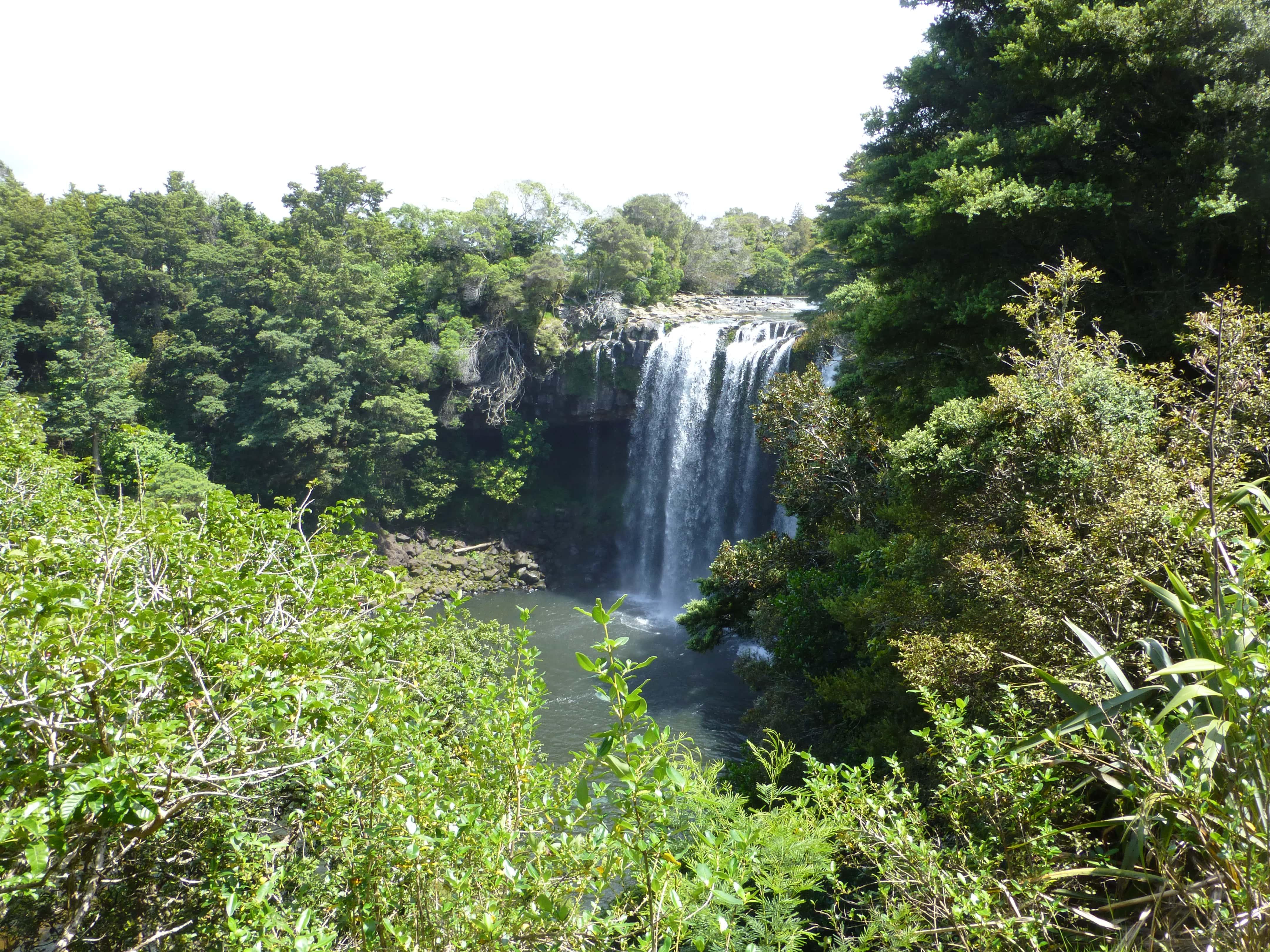 Weit weg Reisen, Rainbow Falls, bei Kerikeri 6