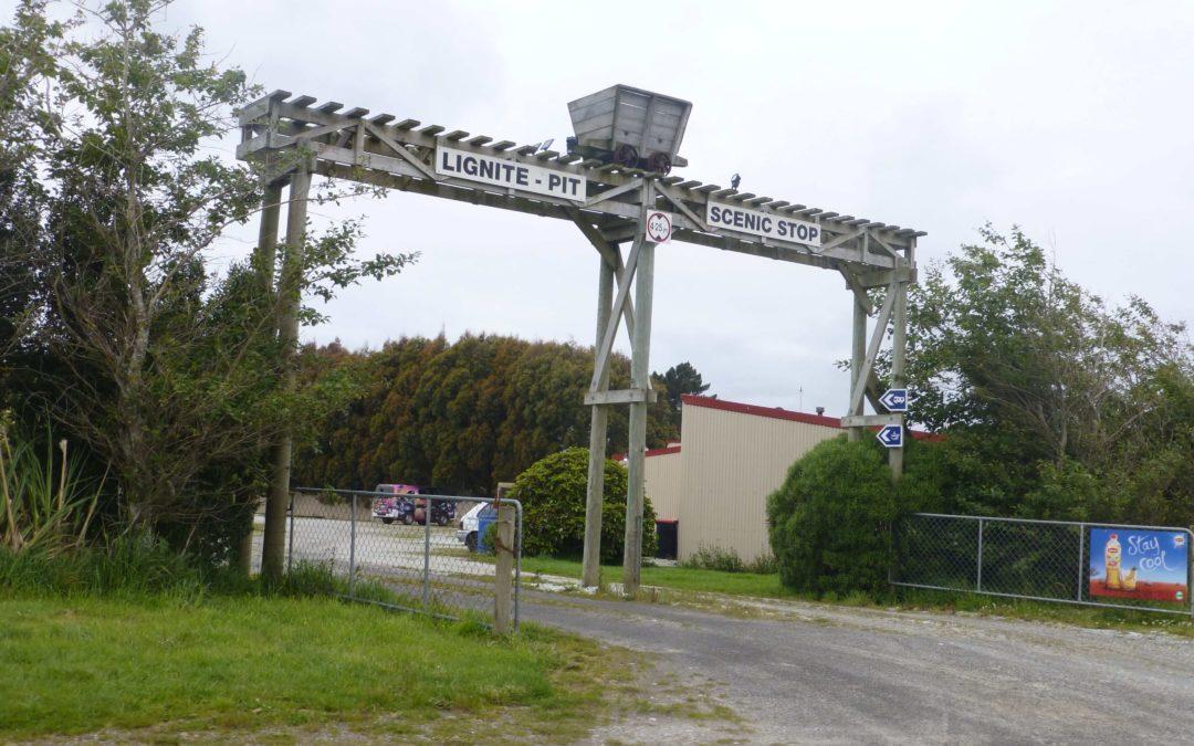 Lignite-Pit Scenic Stop