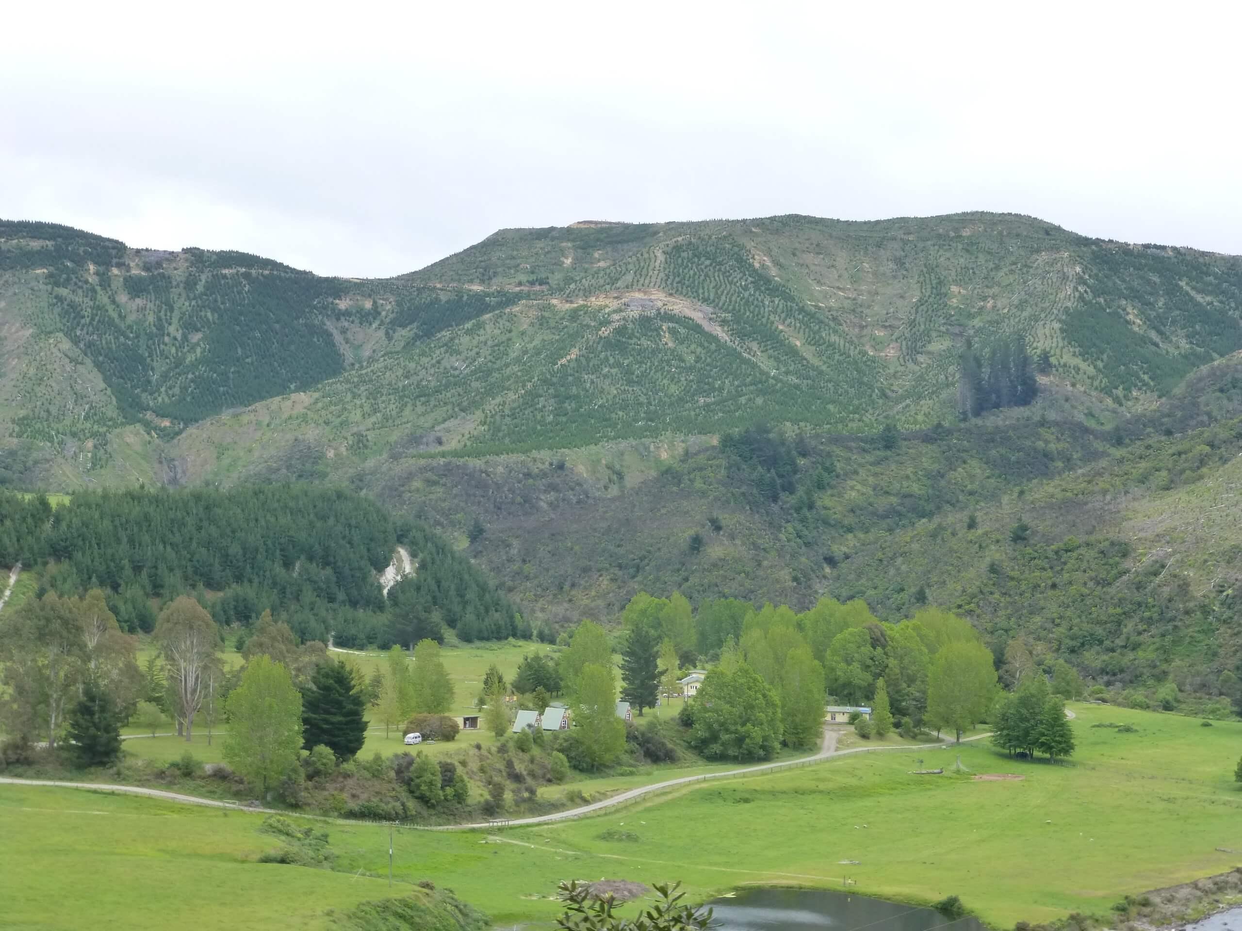 Weit weg Reisen, im Tal des Mōhaka River, die Mountain Valley Adventures Lodge 1