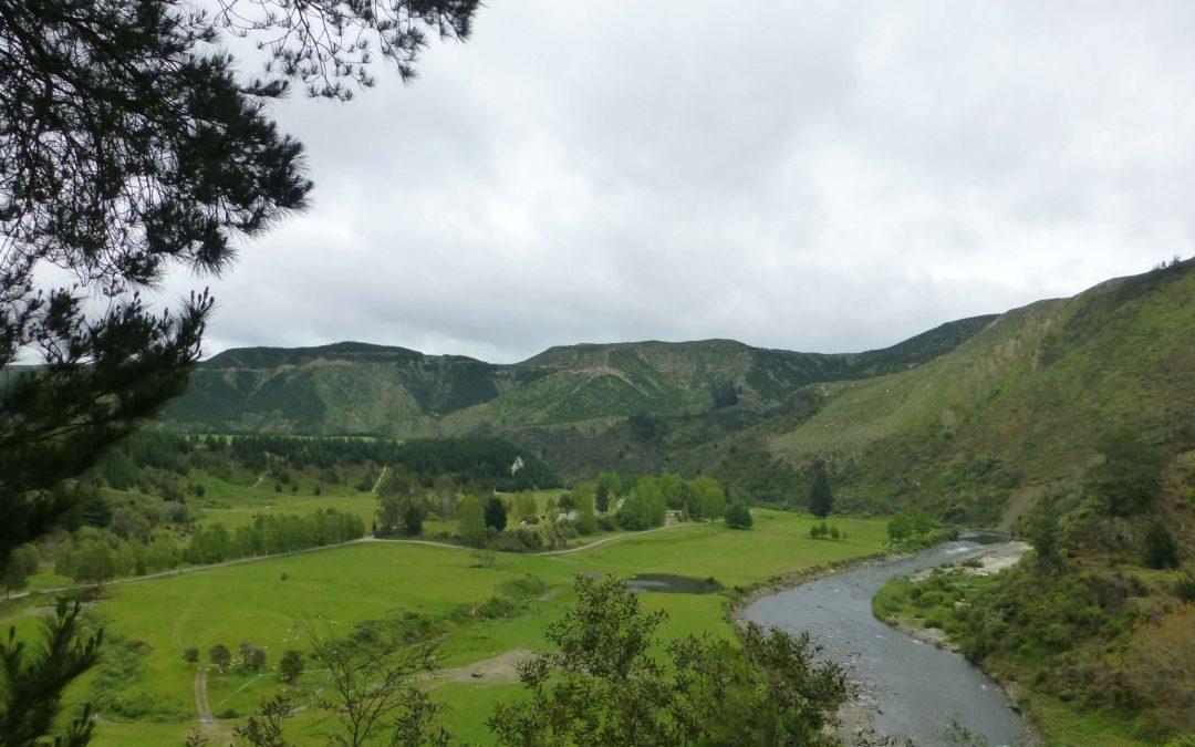 Weit weg Reisen, im Tal des Mōhaka River, die Mountain Valley Adventures Lodge 2