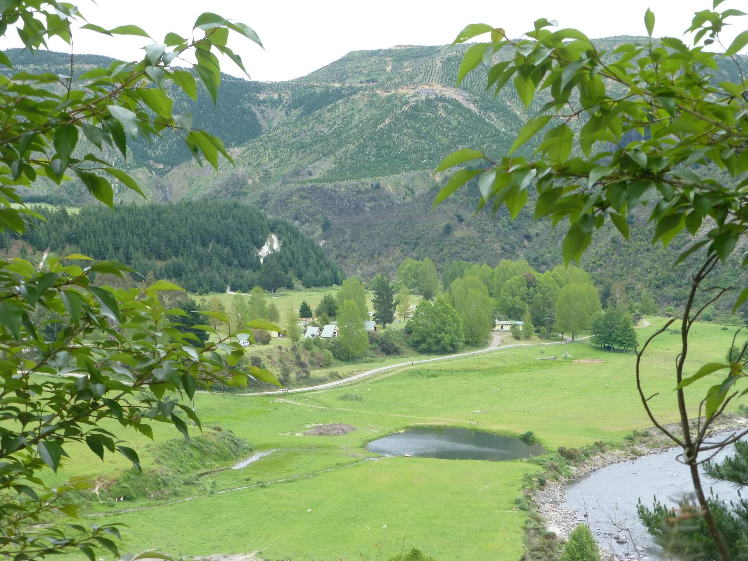 Weit weg Reisen, im Tal des Mōhaka River, die Mountain Valley Adventures Lodge 4