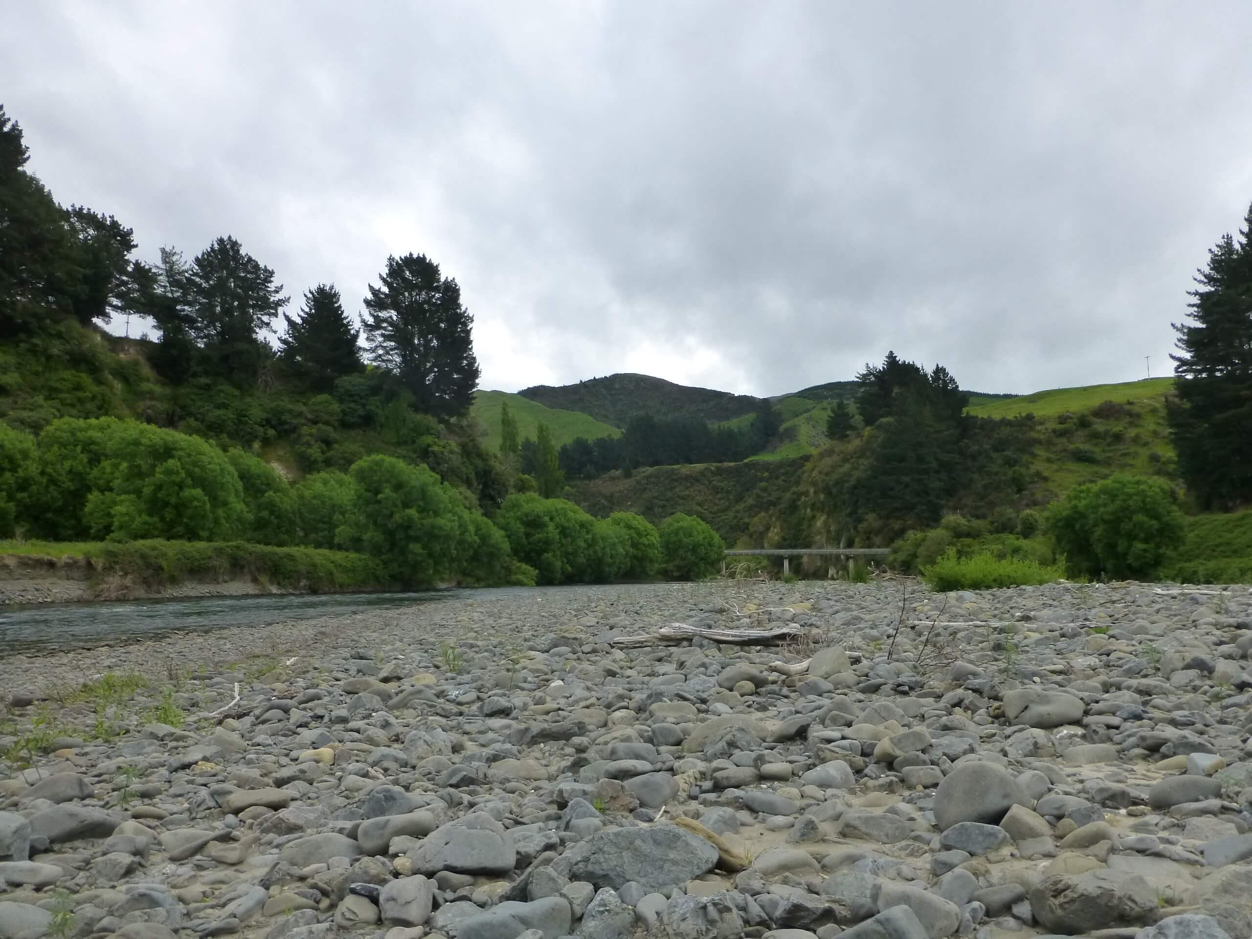 Weit weg Reisen, Brücke am Mōhaka River, vor der Mountain Valley Adventures Lodge 2