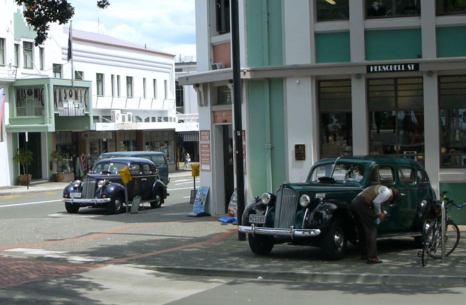 Weit weg Reisen, Napier, Art Deco City 2
