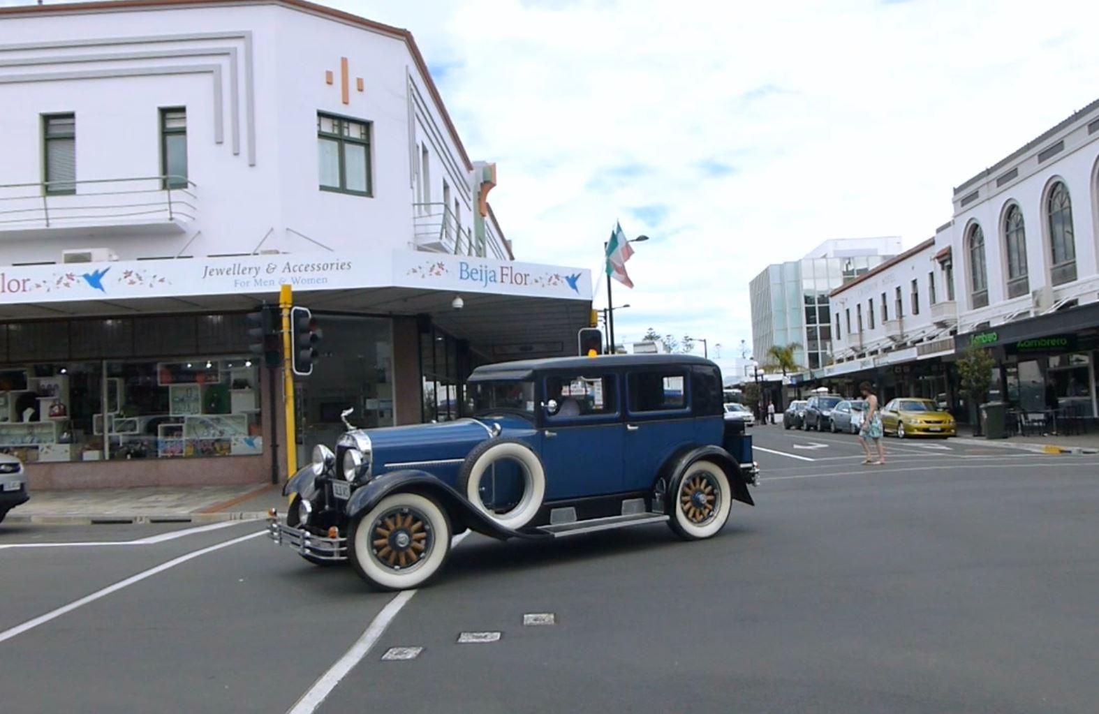 Weit weg Reisen, Napier, Art Deco City 3