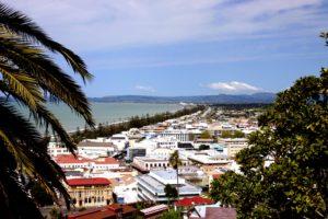 Weit weg Reisen, Napier, View from Bluff Hill