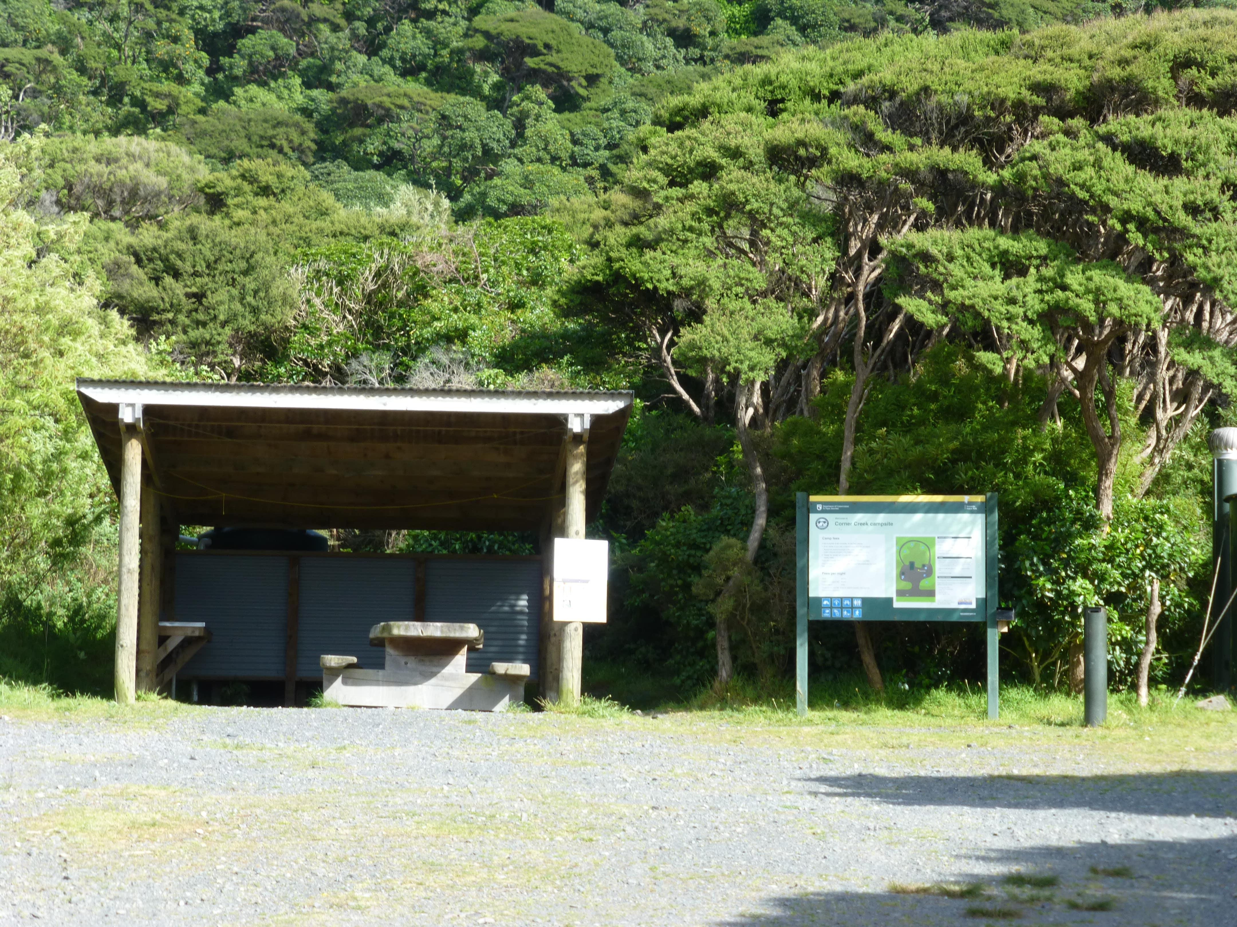 Weit-weg.reisen, Corner Creek Campsite 10