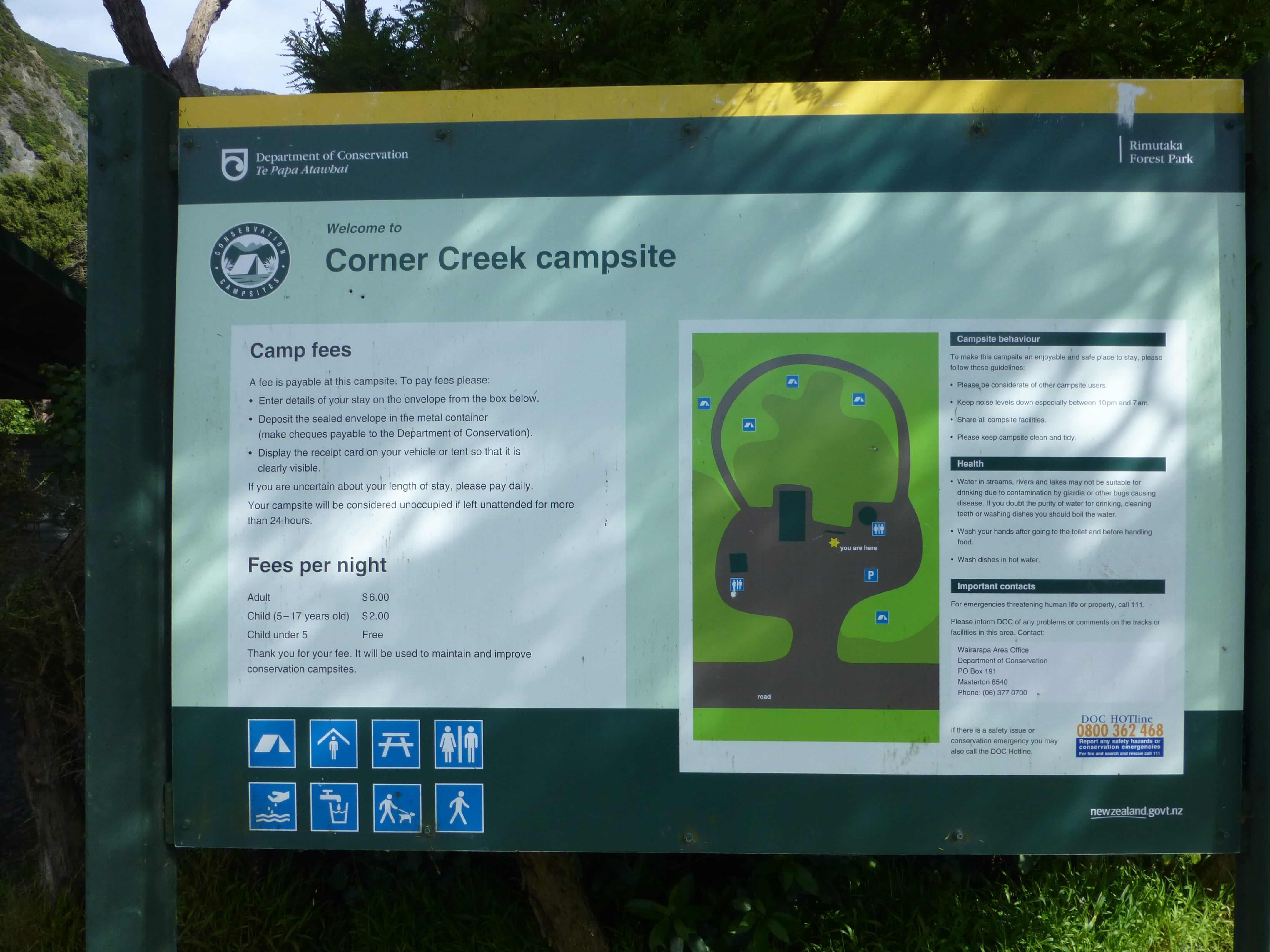 Weit-weg.reisen, Corner Creek Campsite 4