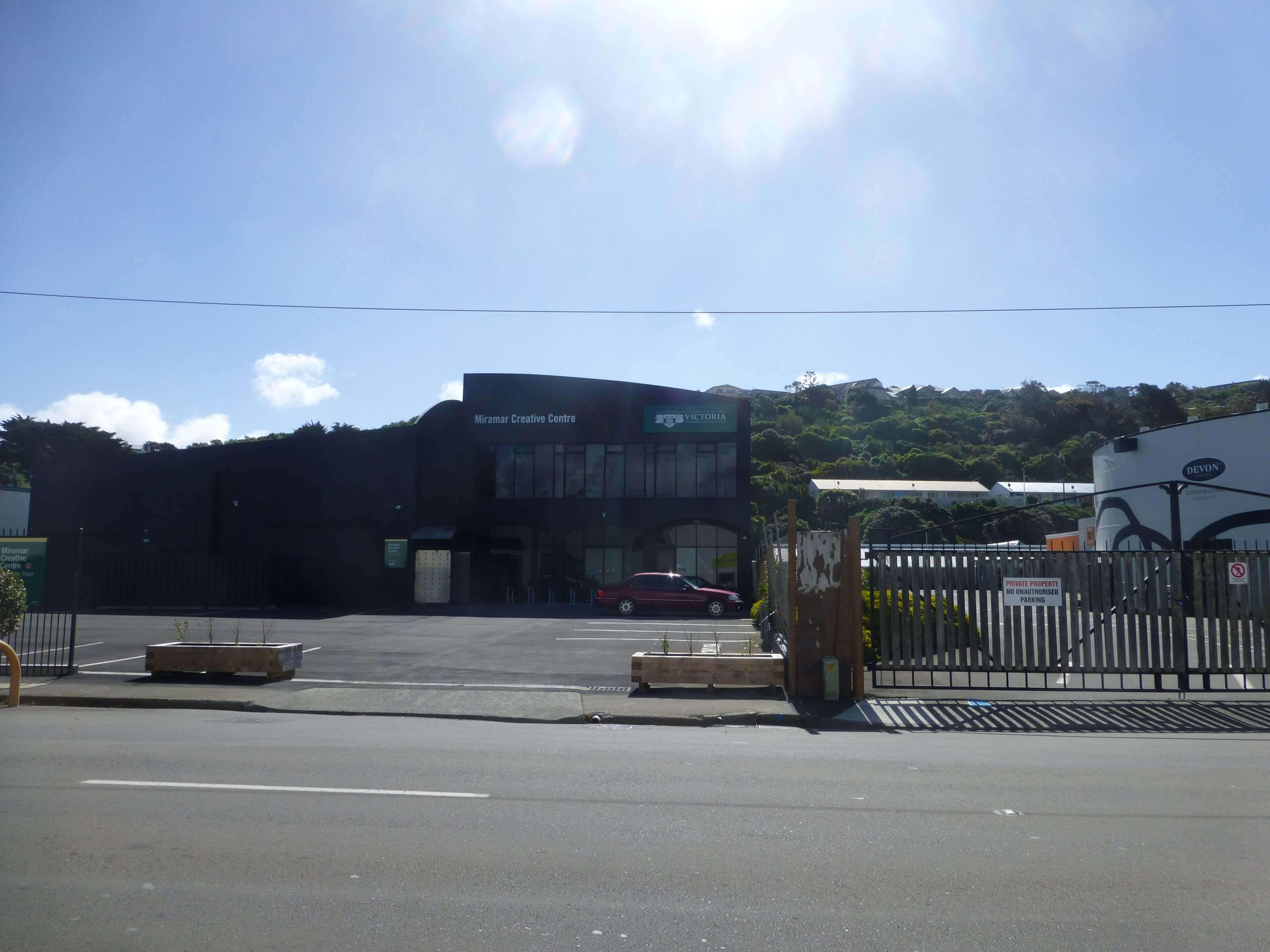 Wellington, in Miramar auf dem Weg zum Weta Shop, Weit-weg.reisen, 13