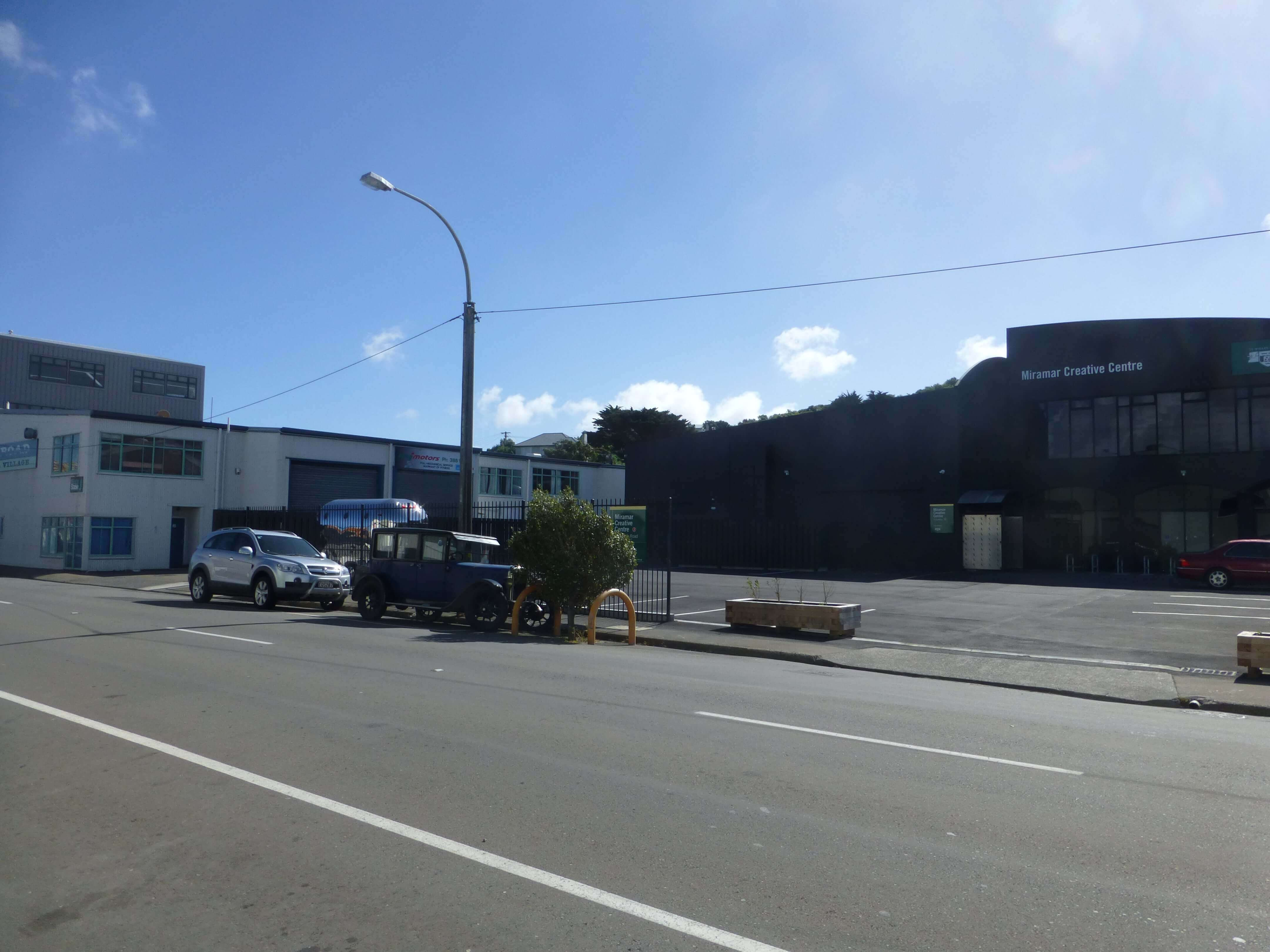Wellington, in Miramar auf dem Weg zum Weta Shop, Weit-weg.reisen, 14