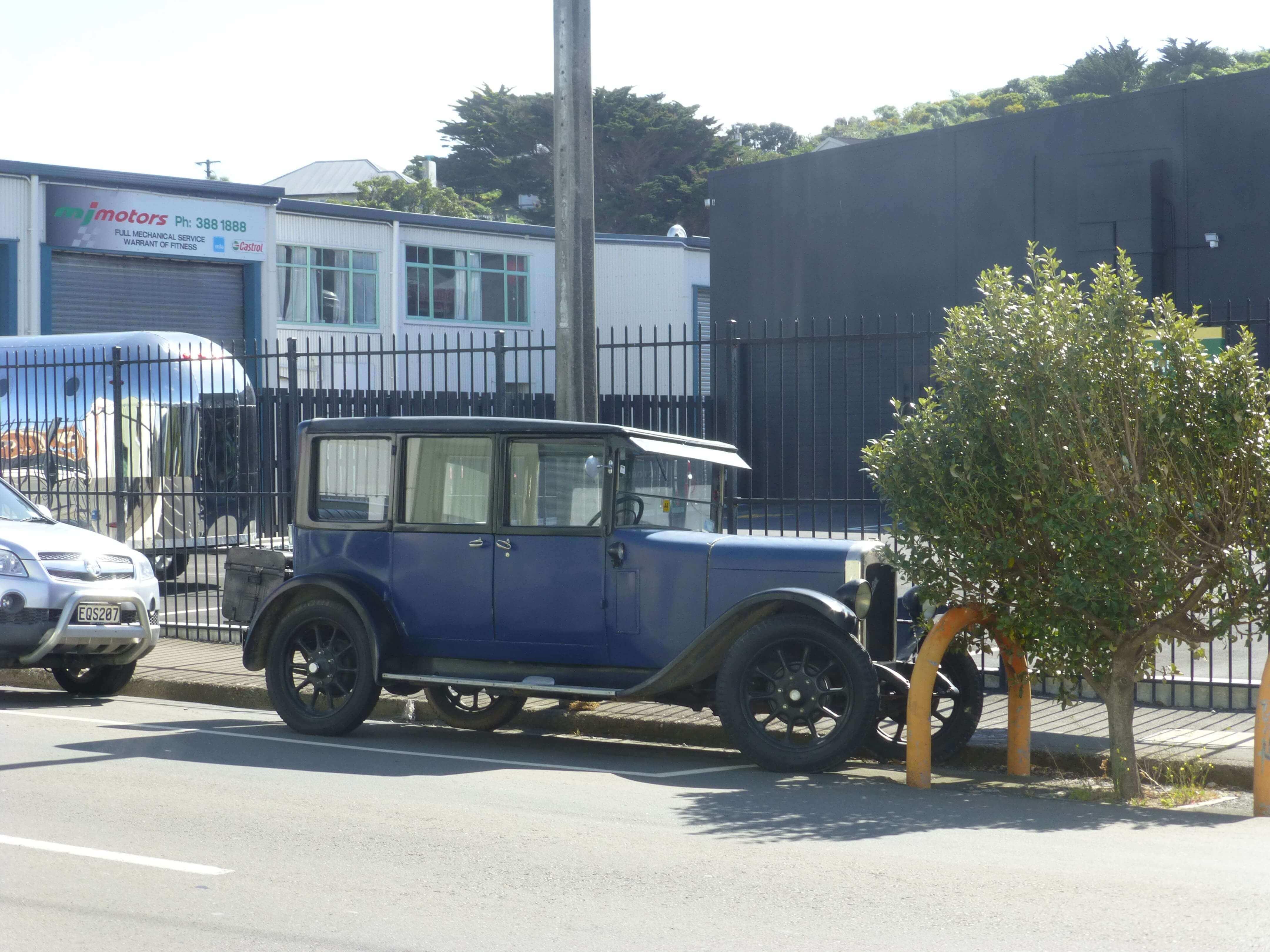 Wellington, in Miramar auf dem Weg zum Weta Shop, Weit-weg.reisen, 15