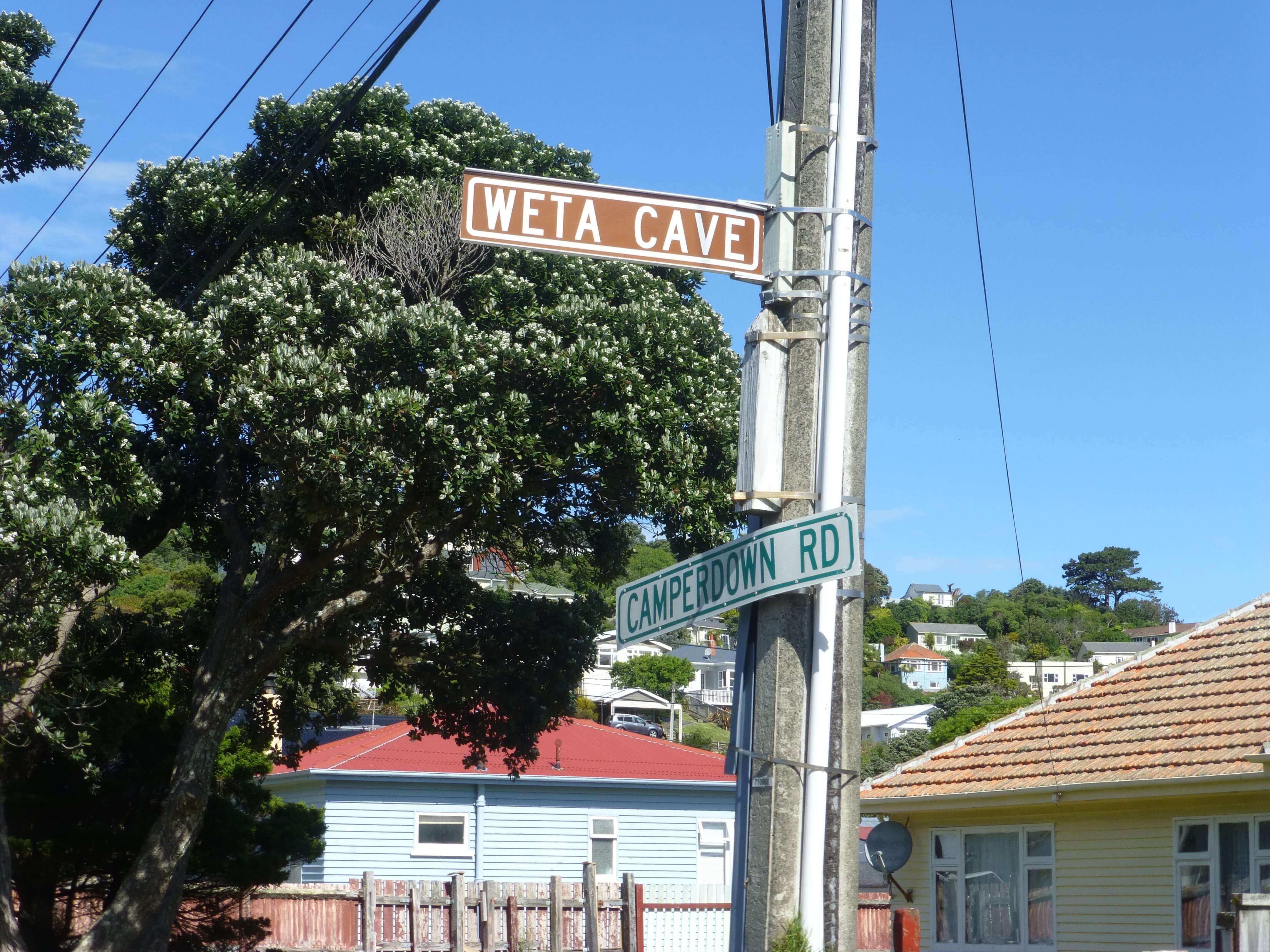 Wellington, in Miramar auf dem Weg zum Weta Shop, Weit-weg.reisen, 7
