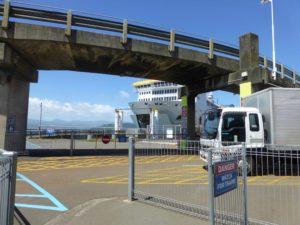 Wellington, NZ, am Fährterminal, Weit-weg.reisen 4