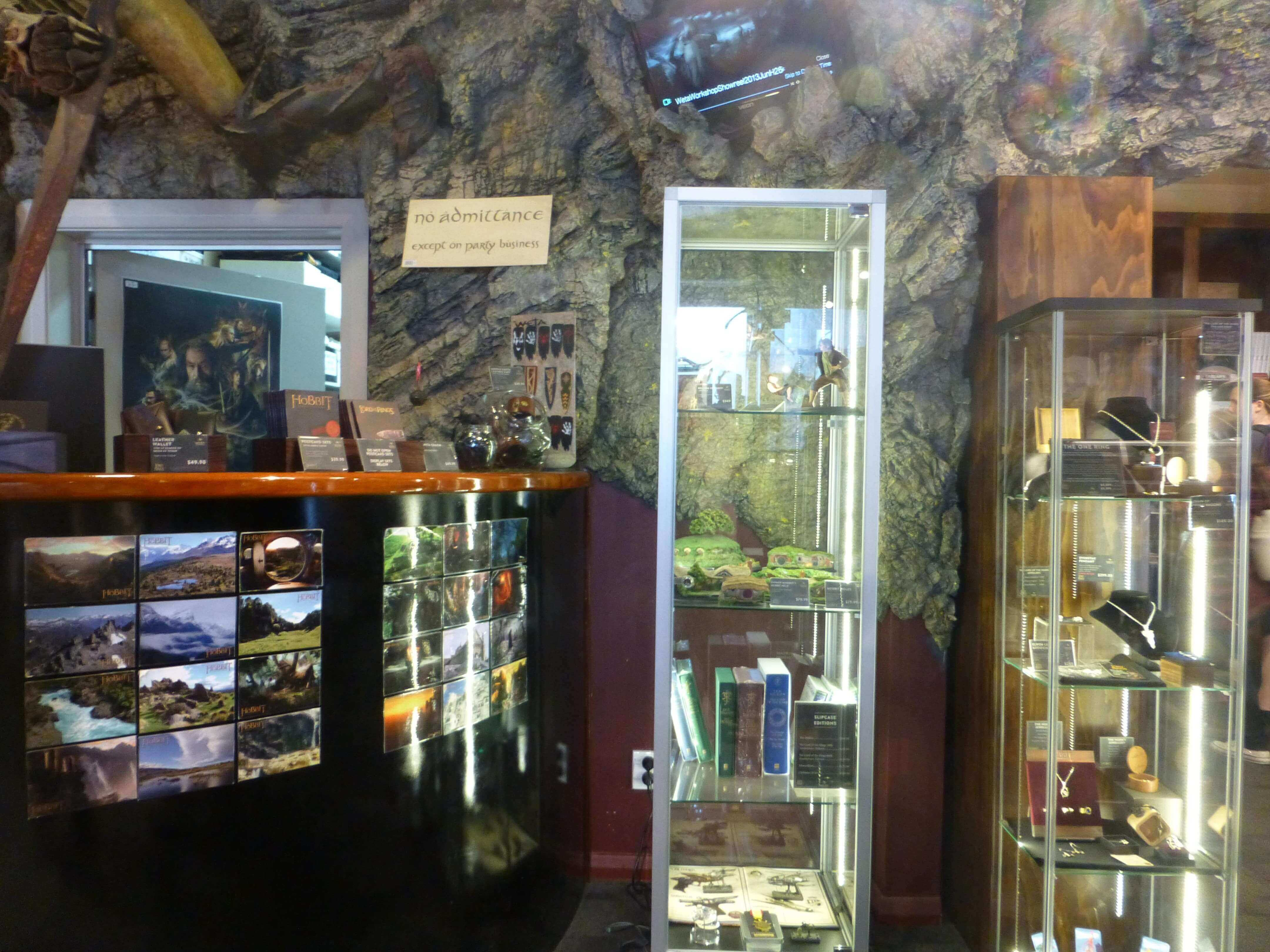 Wellington, im Weta Shop, Weit-weg.reisen 4