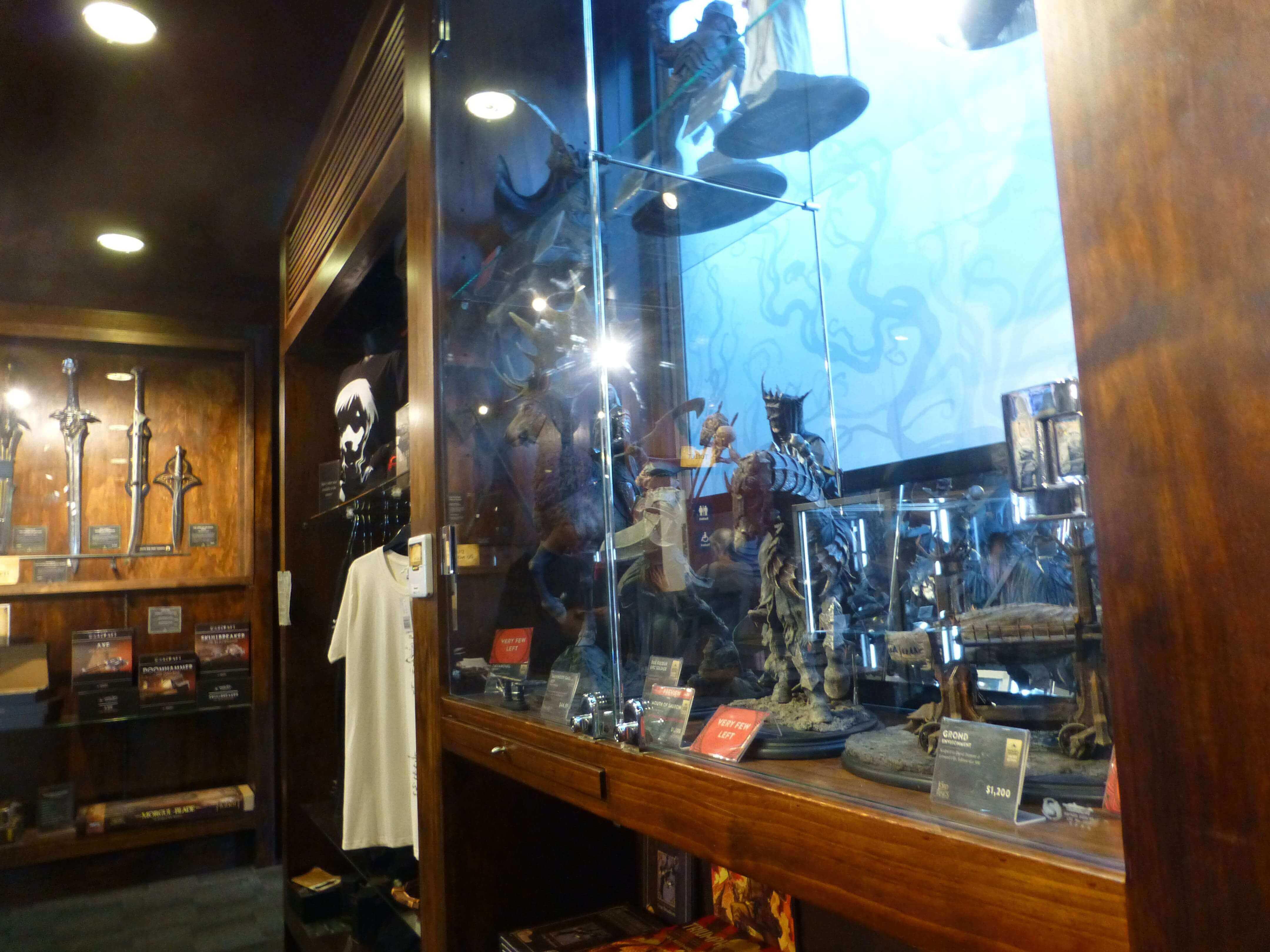 Wellington, im Weta Shop, Weit-weg.reisen 5