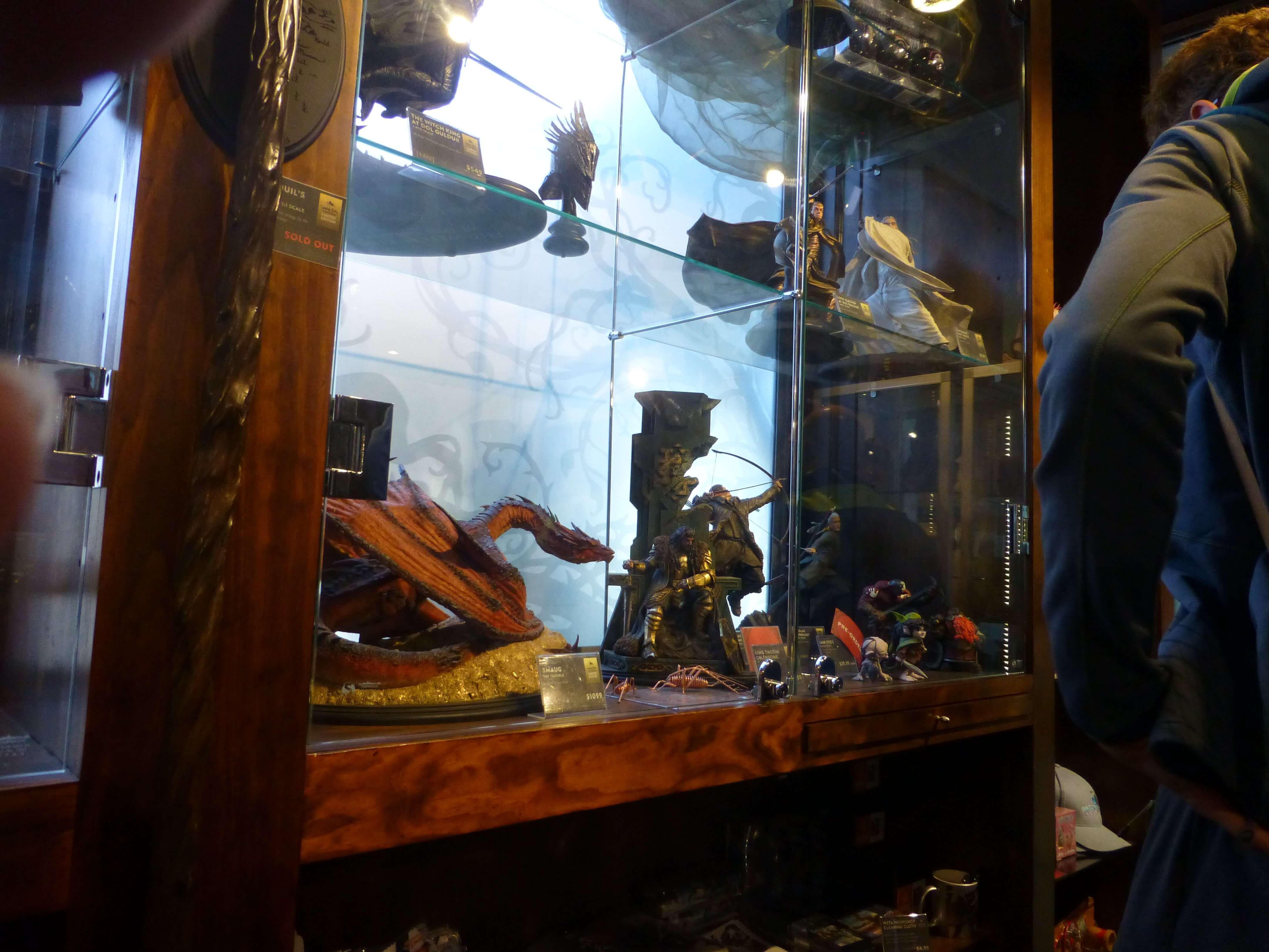 Wellington, im Weta Shop, Weit-weg.reisen 7
