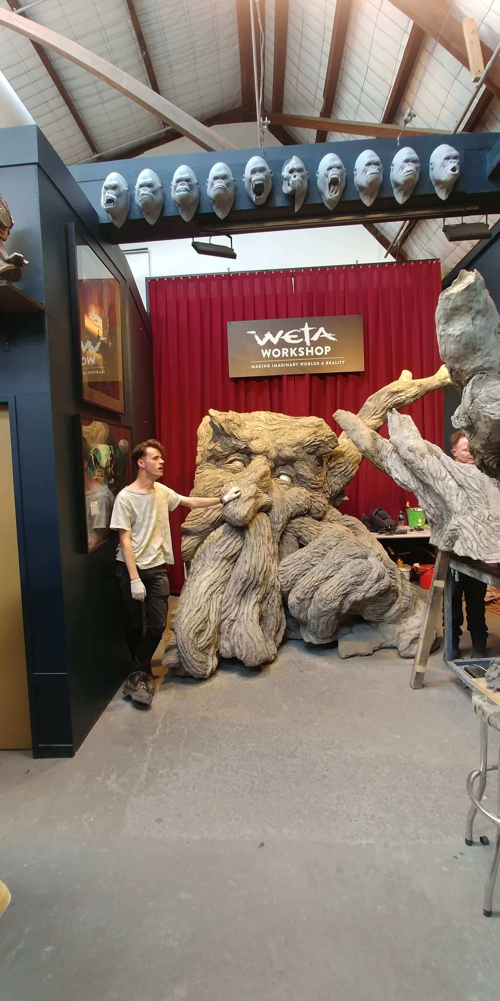 Wellington, im Weta Studio, Weit-weg.reisen 3