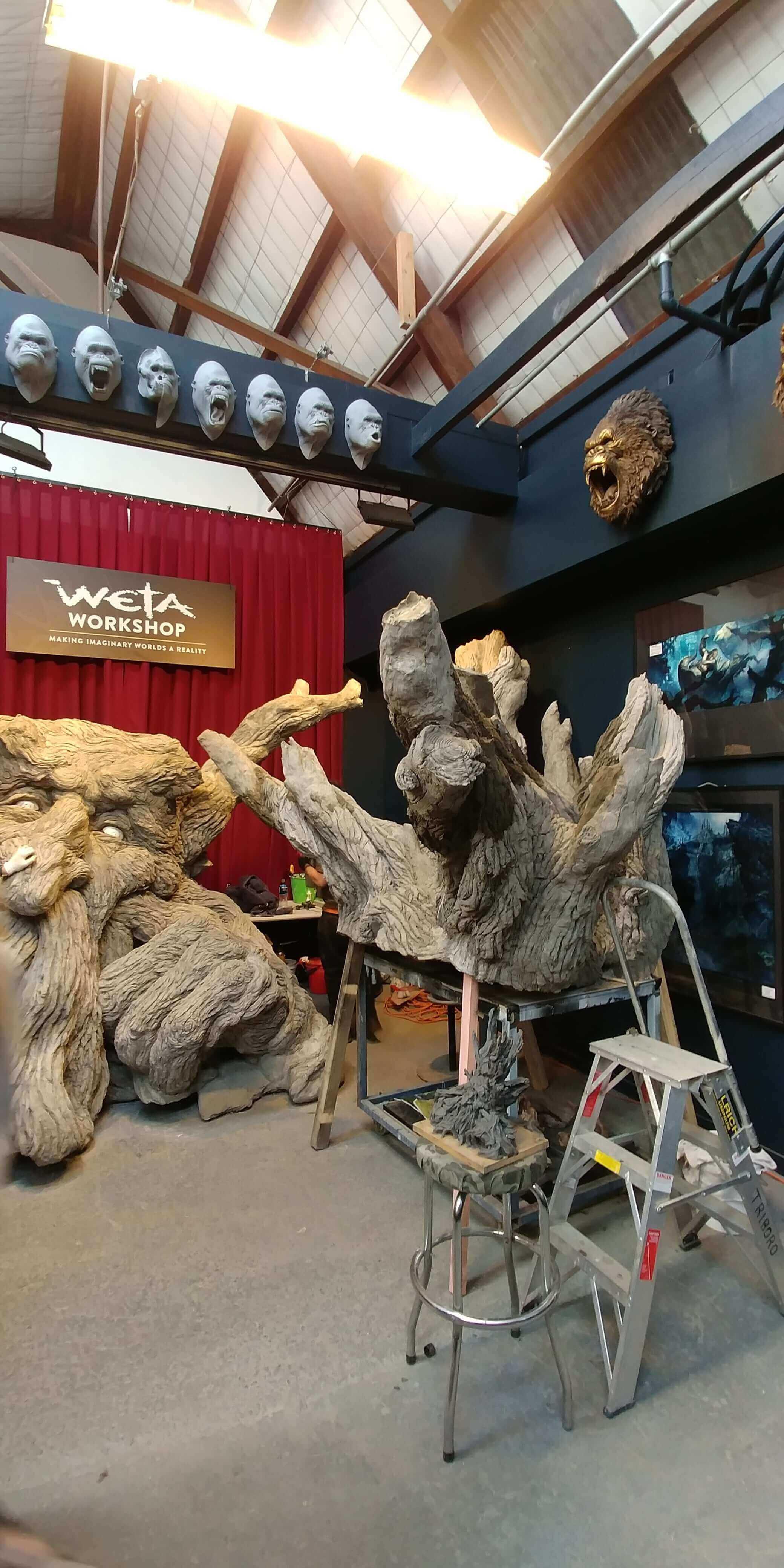 Wellington, im Weta Studio, Weit-weg.reisen 4