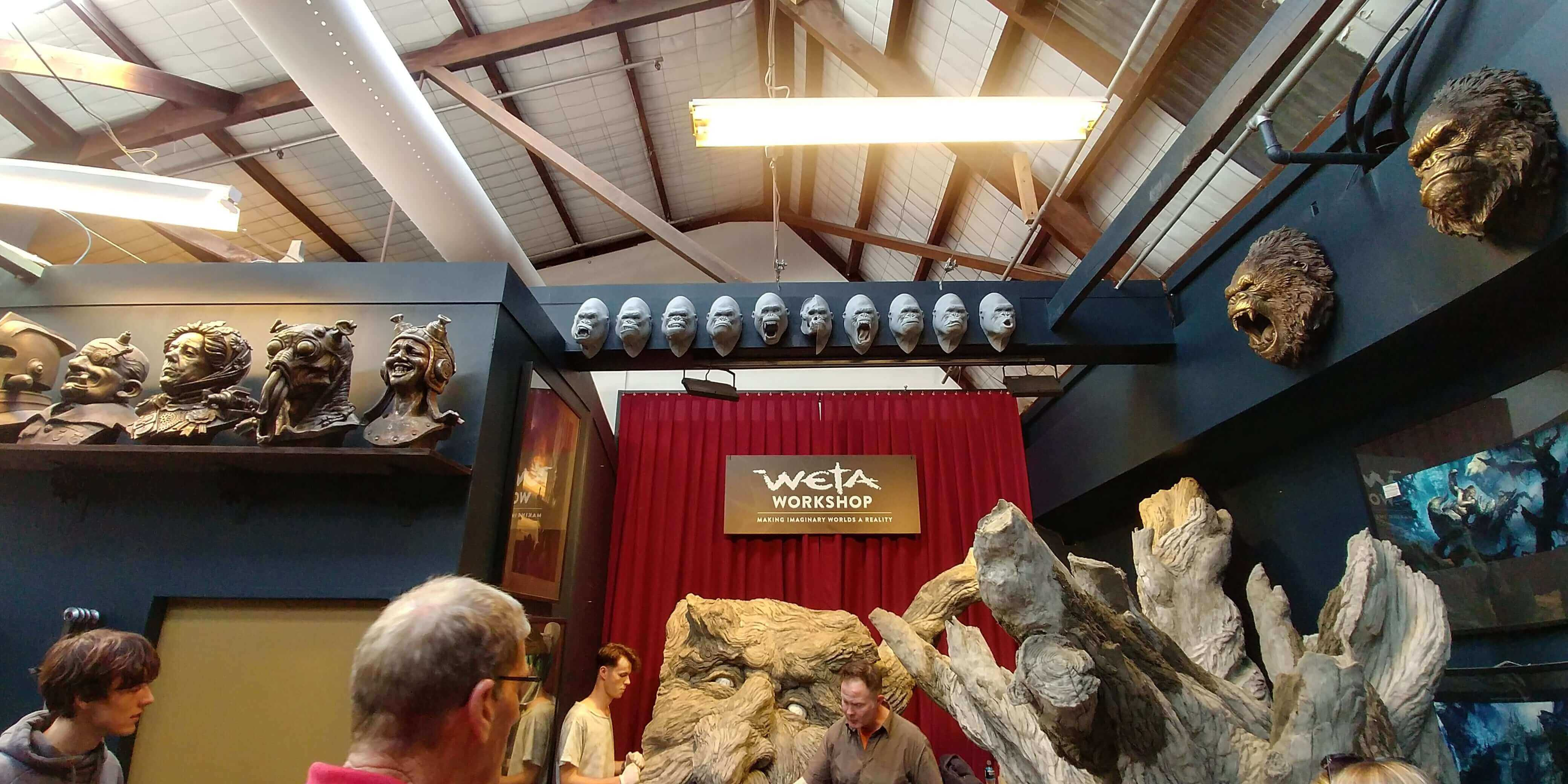 Wellington, im Weta Studio, Weit-weg.reisen 7